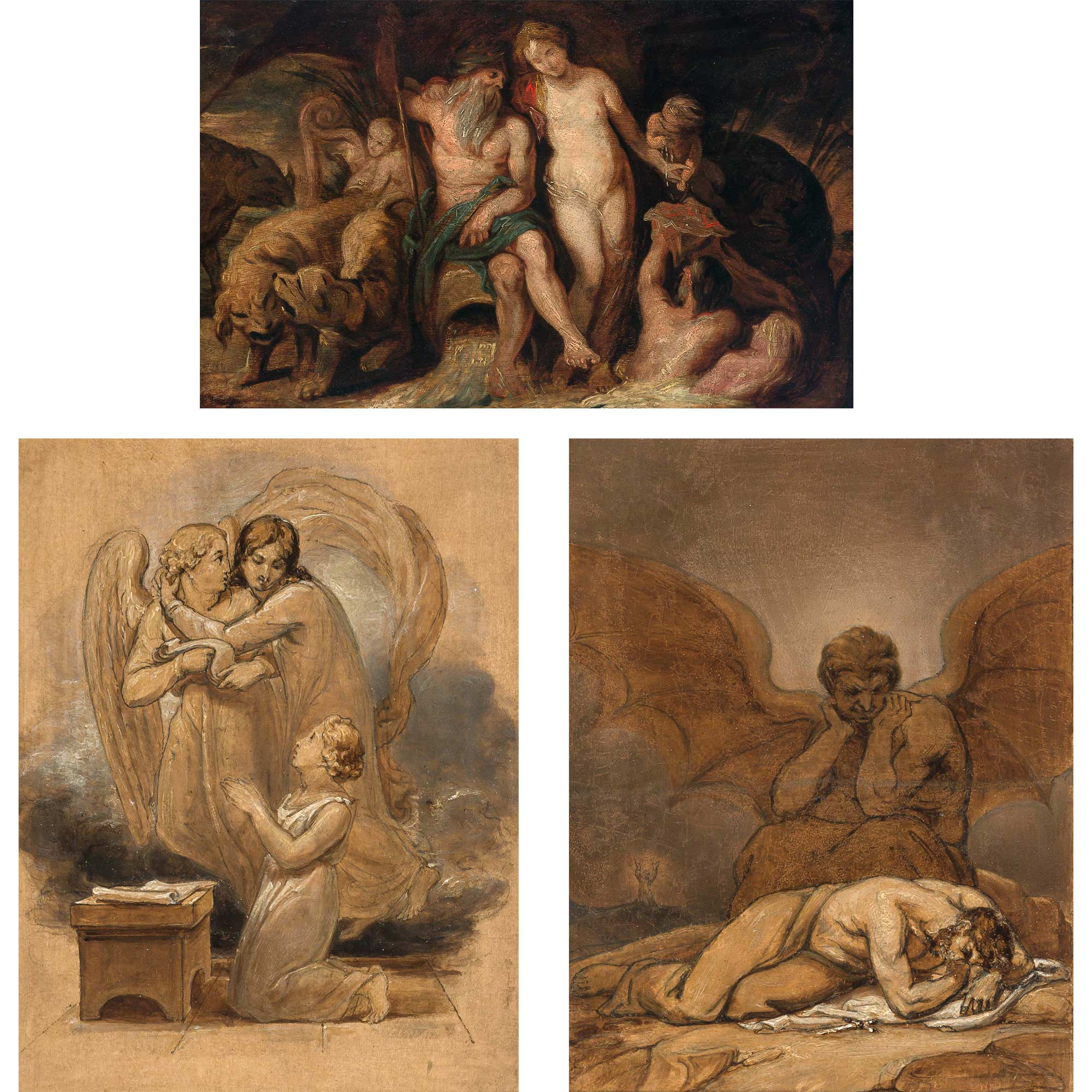 Lot image - Attributed to Thomas Stothard