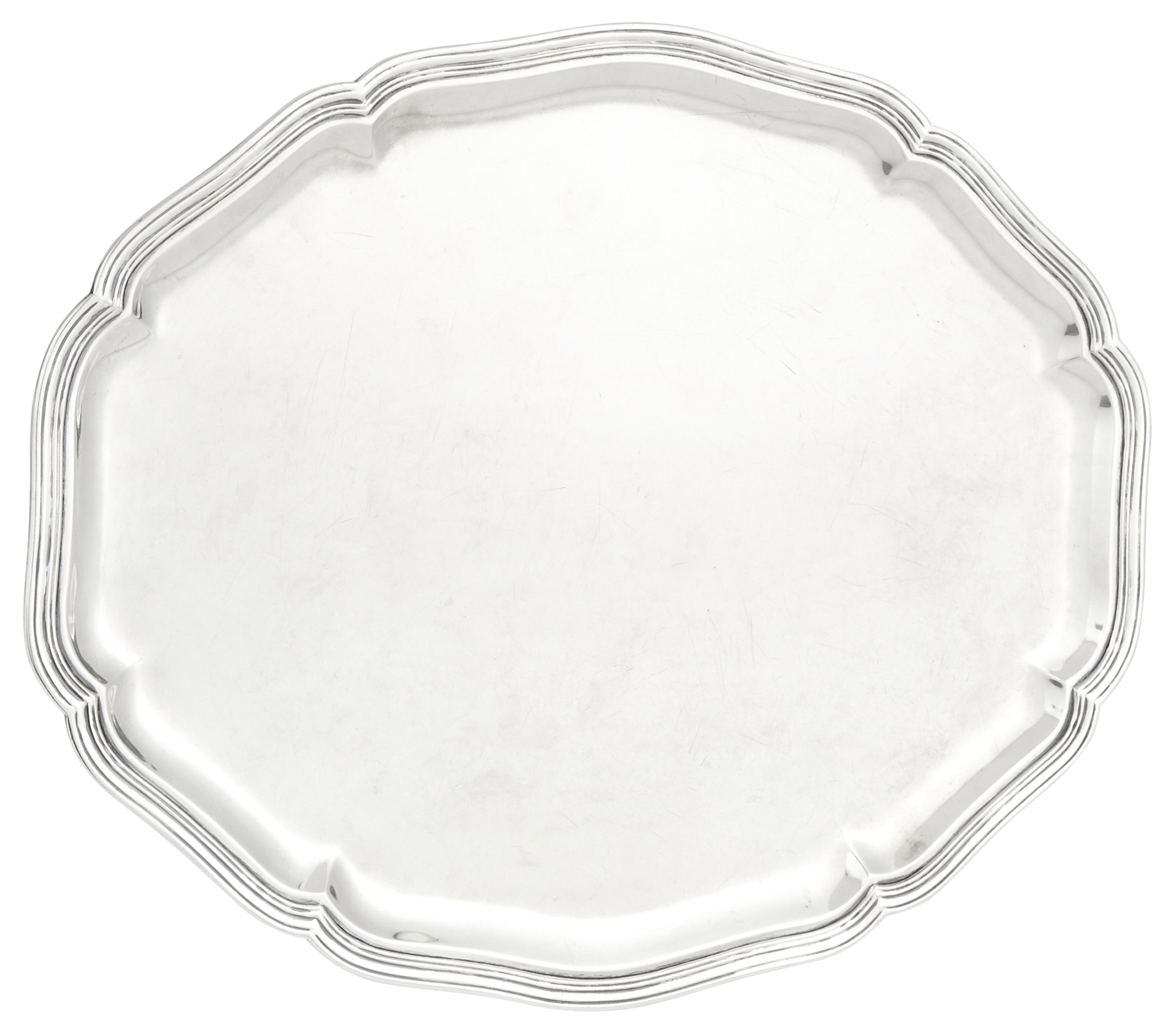 Lot image - Continental Silver Platter