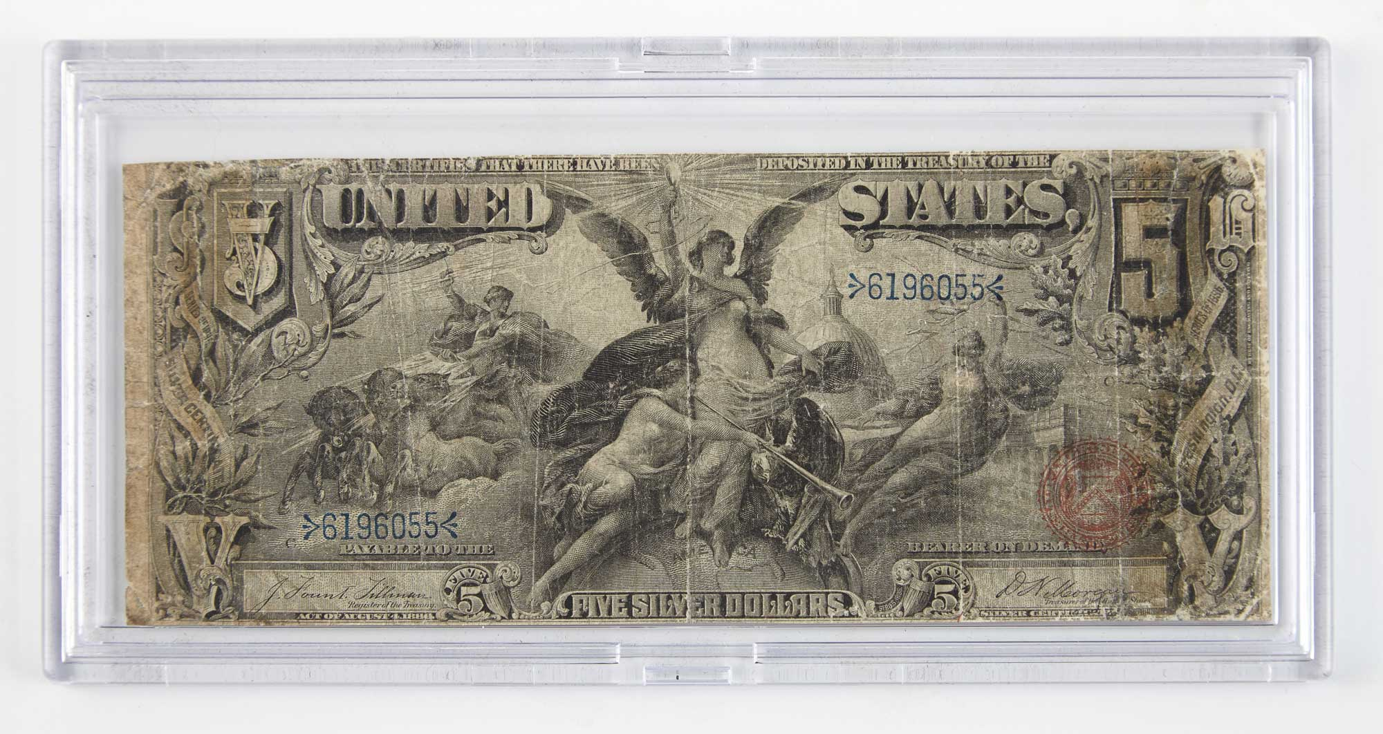 Lot image - United States 1886 $5 Silver