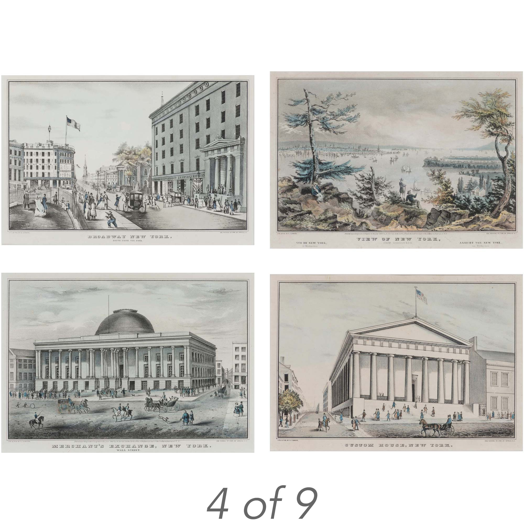 Lot image - Nathaniel Currier, publisher