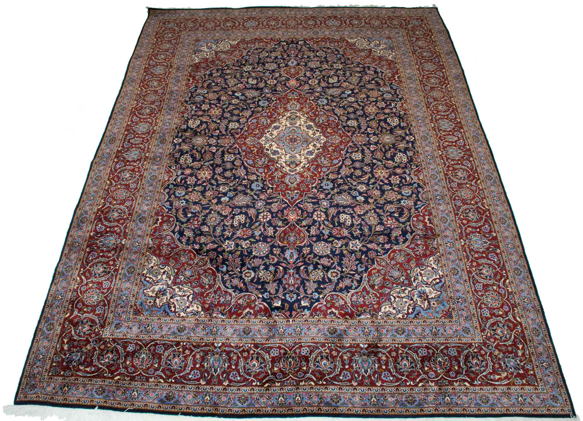 Lot image - Kashan Carpet