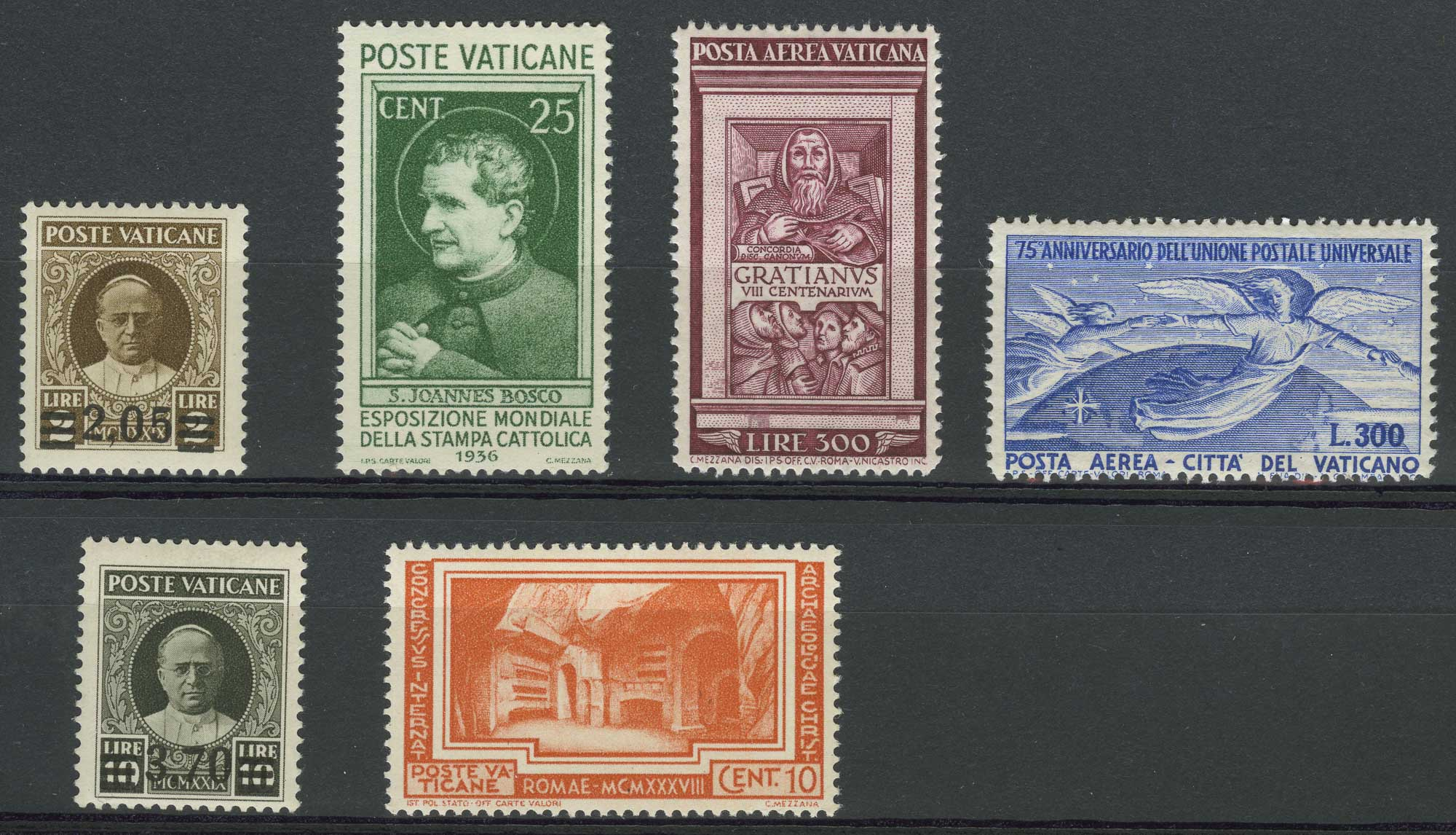 Lot image - Vatican City Stamp Collection