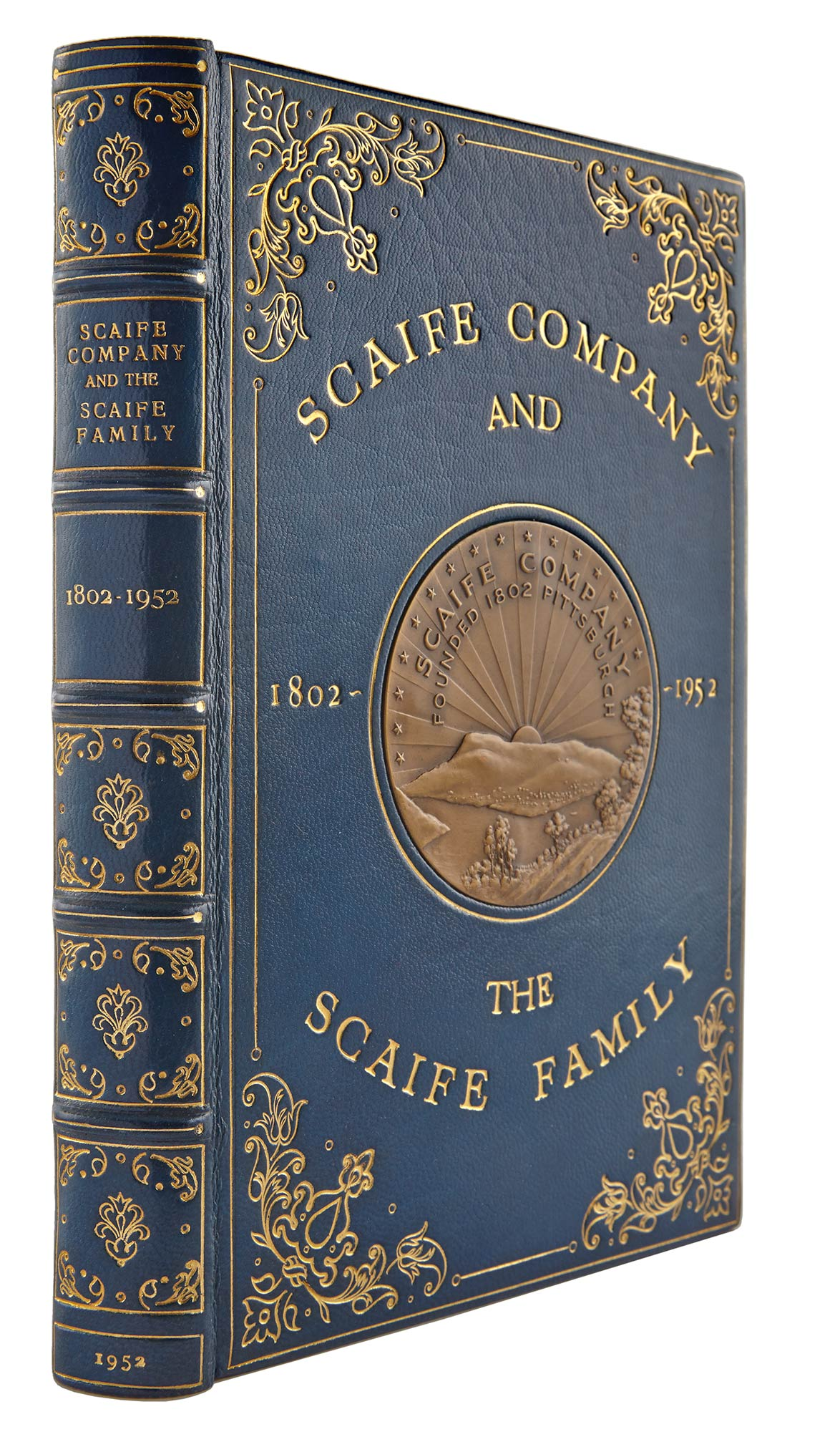 Lot image - [MELLON FAMILY]  Miscellaneous group of approximately twenty-five books on the Mellon or Scaife families.