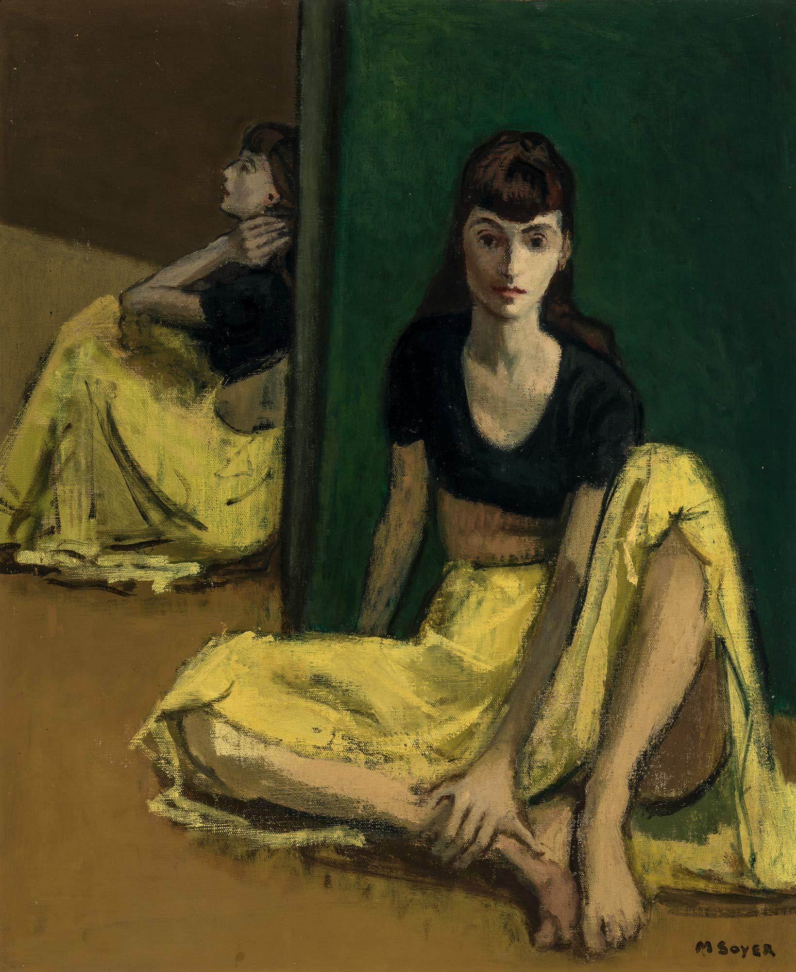 Lot image - Moses Soyer
