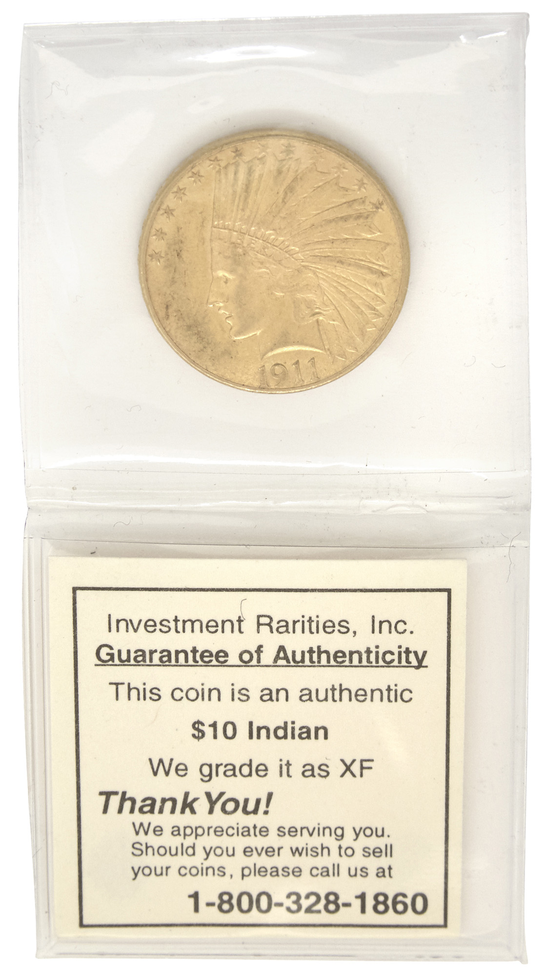 Lot image - United States 1911 $10 Gold Indian