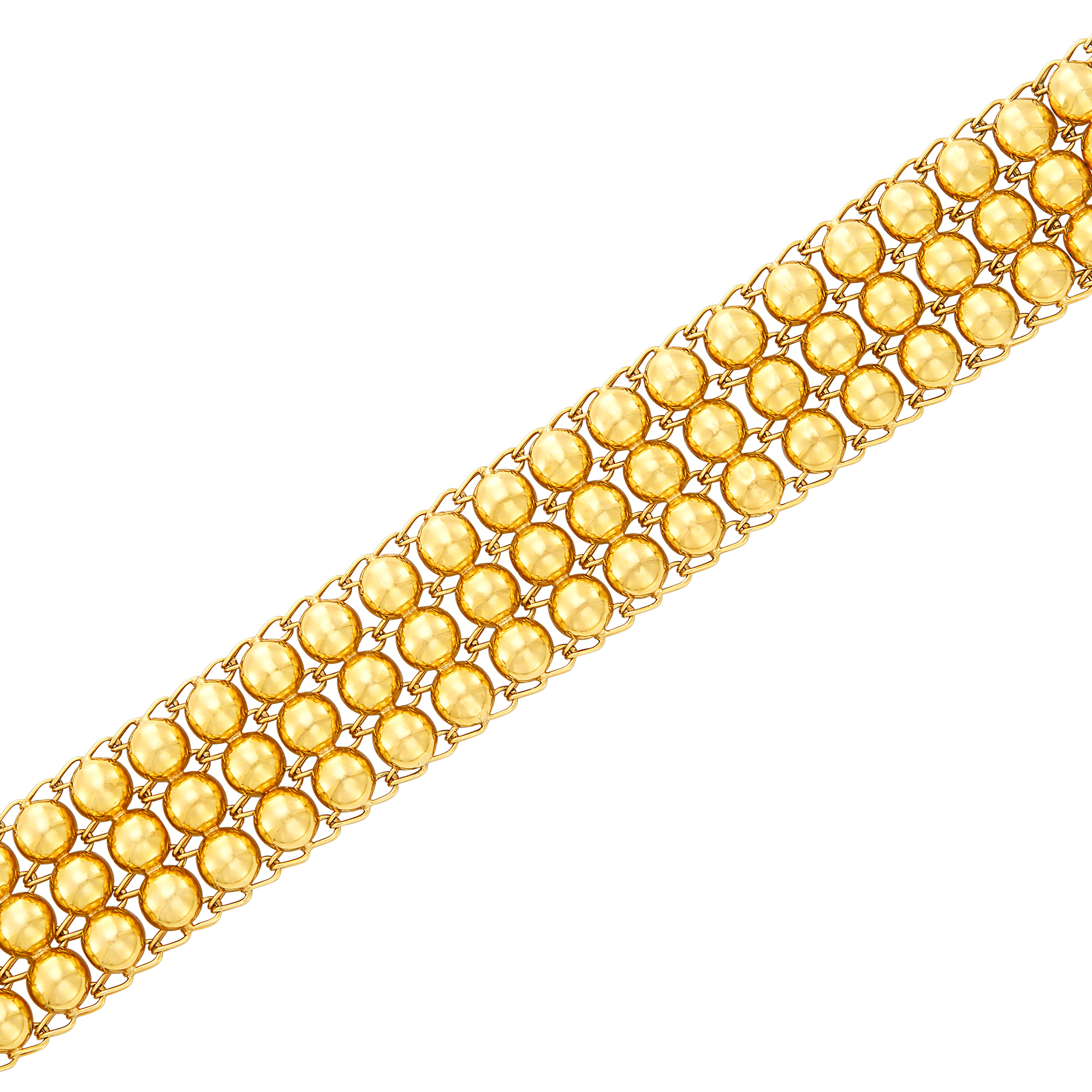 Lot image - Gold Bracelet