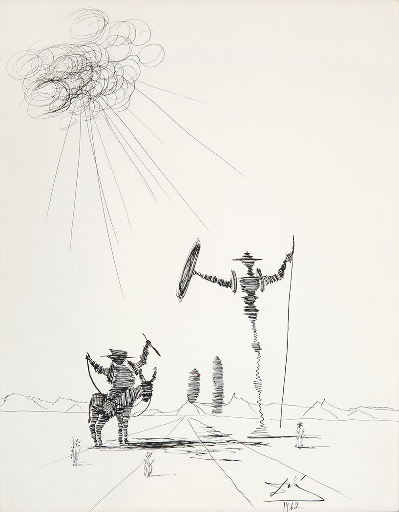 Lot image - Salvador Dali