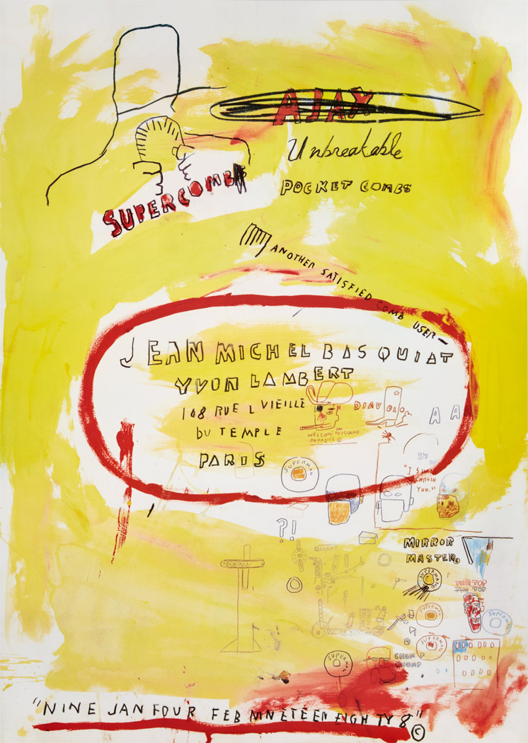 Lot image - After Jean-Michel Basquiat