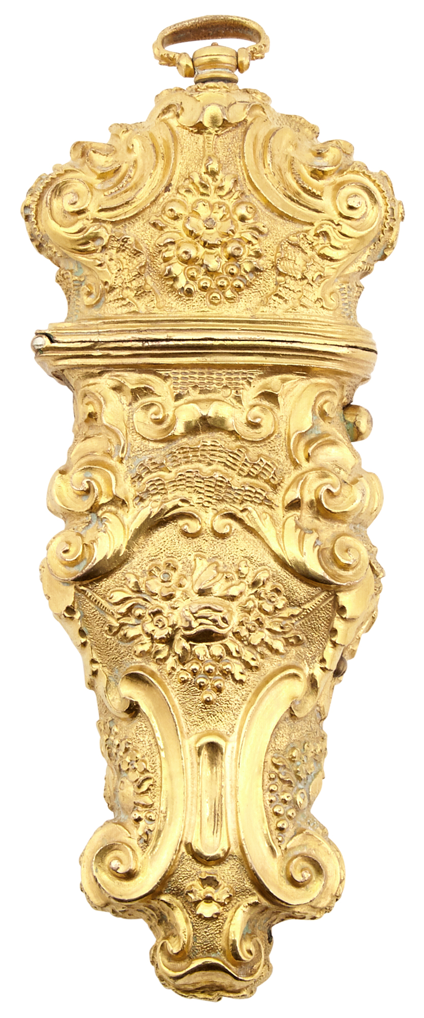 Lot image - Louis XV Style Gilt-Metal Lighter