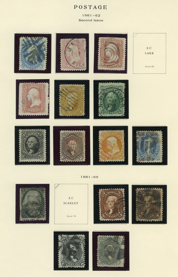 Lot image - United States 1861-1866 Issues