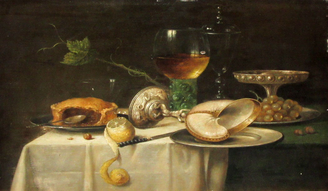 Lot image - Manner of Willem Claesz Heda