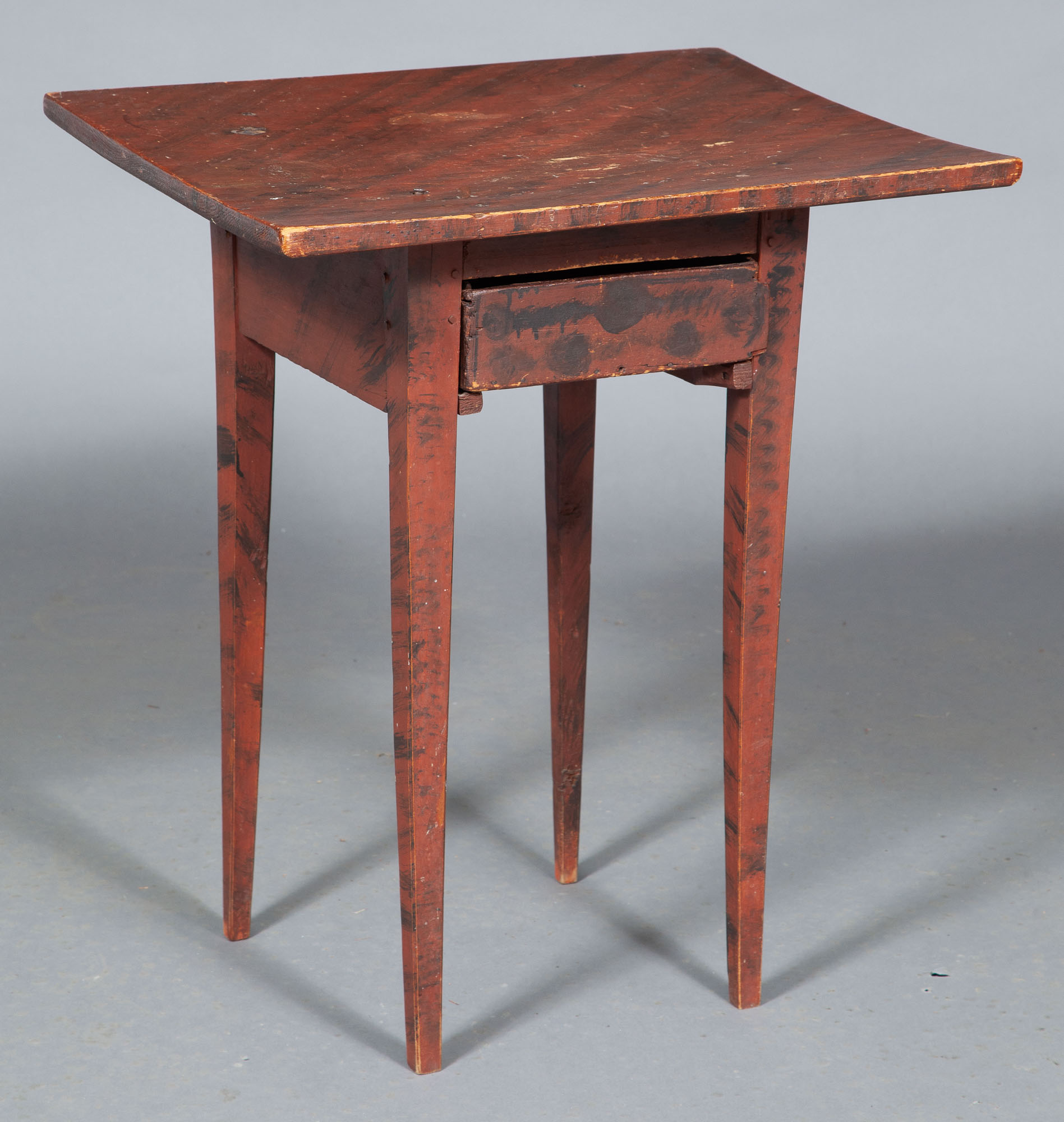 Lot image - Federal Grain Painted Wood Work Table