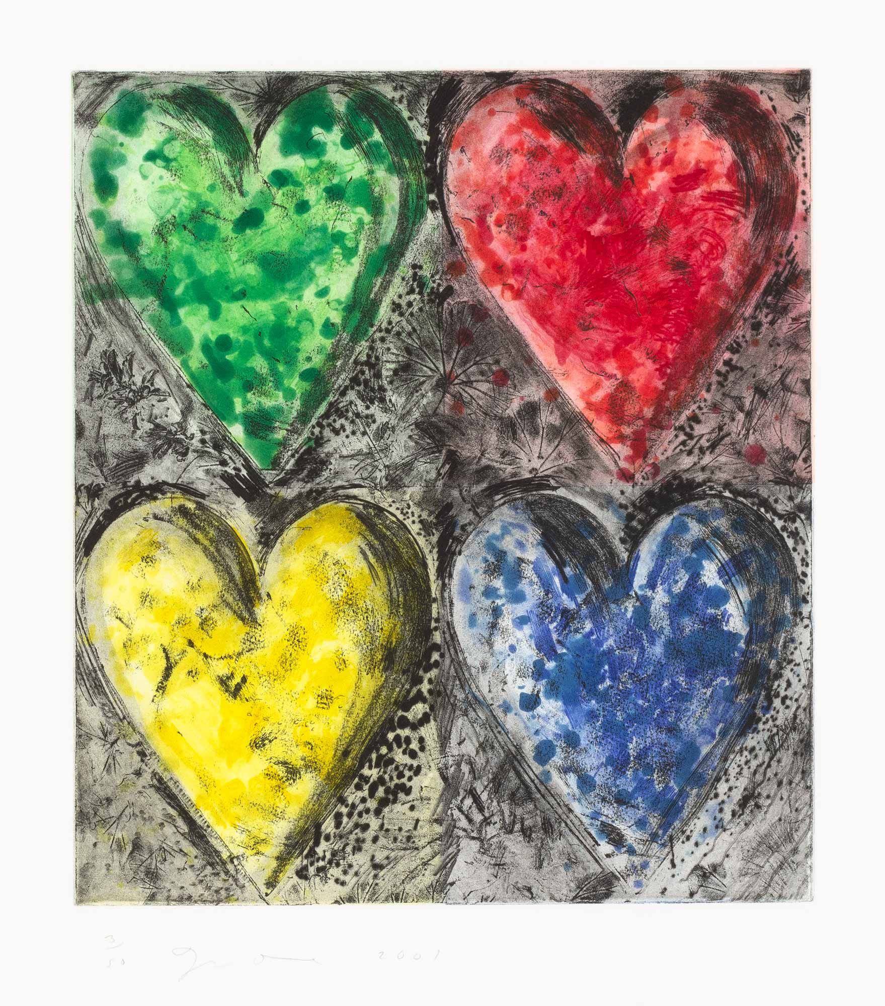 Lot image - Jim Dine (b. 1935)