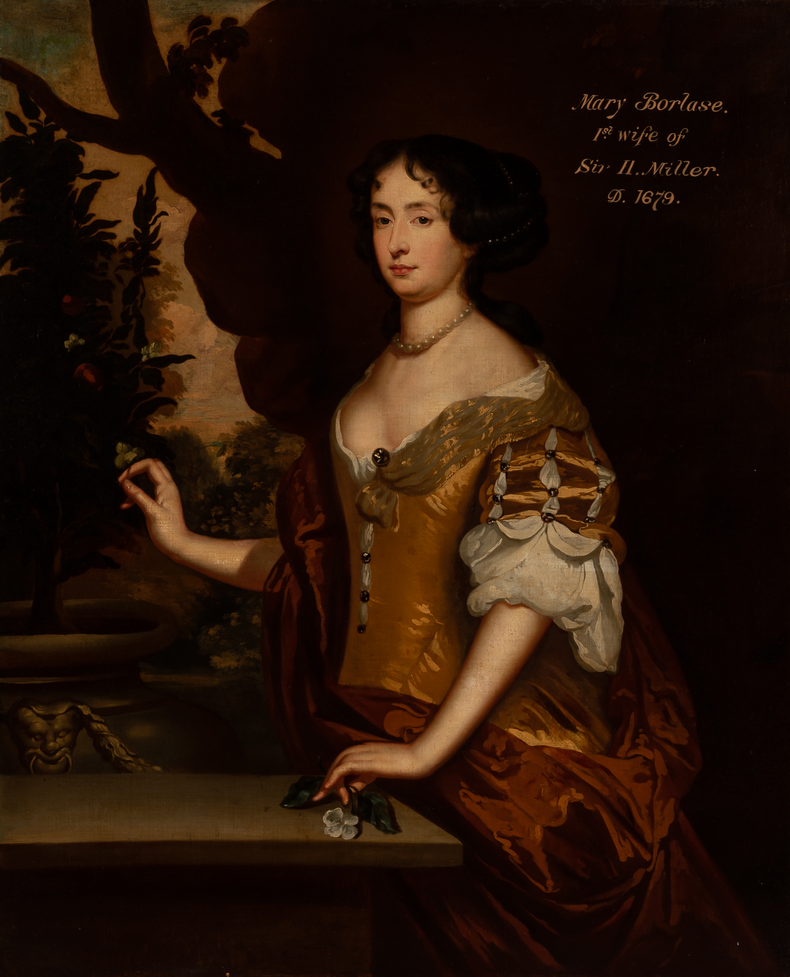 Lot image - Attributed to Sir Godfrey Kneller