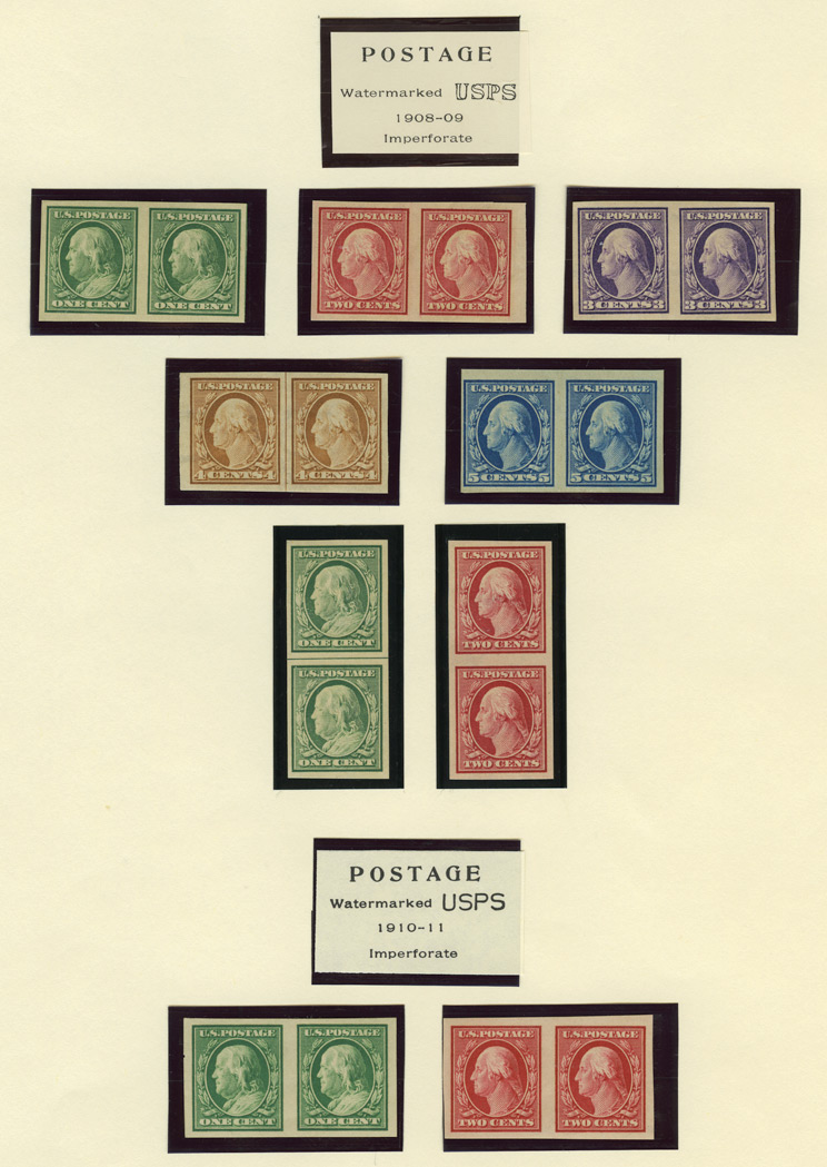 Lot image - United States Washington-Franklin Coil Pairs