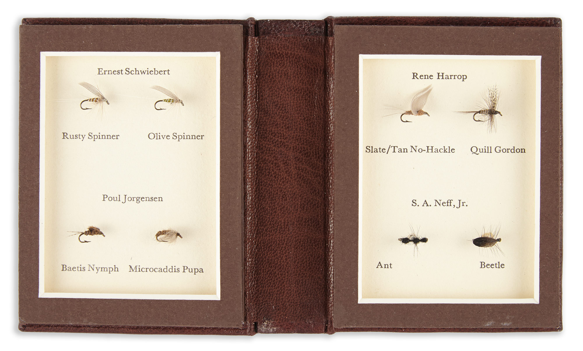 Lot image - HARROP, RENE and JORGENSEN, POUL and others  A Book of Small Flies