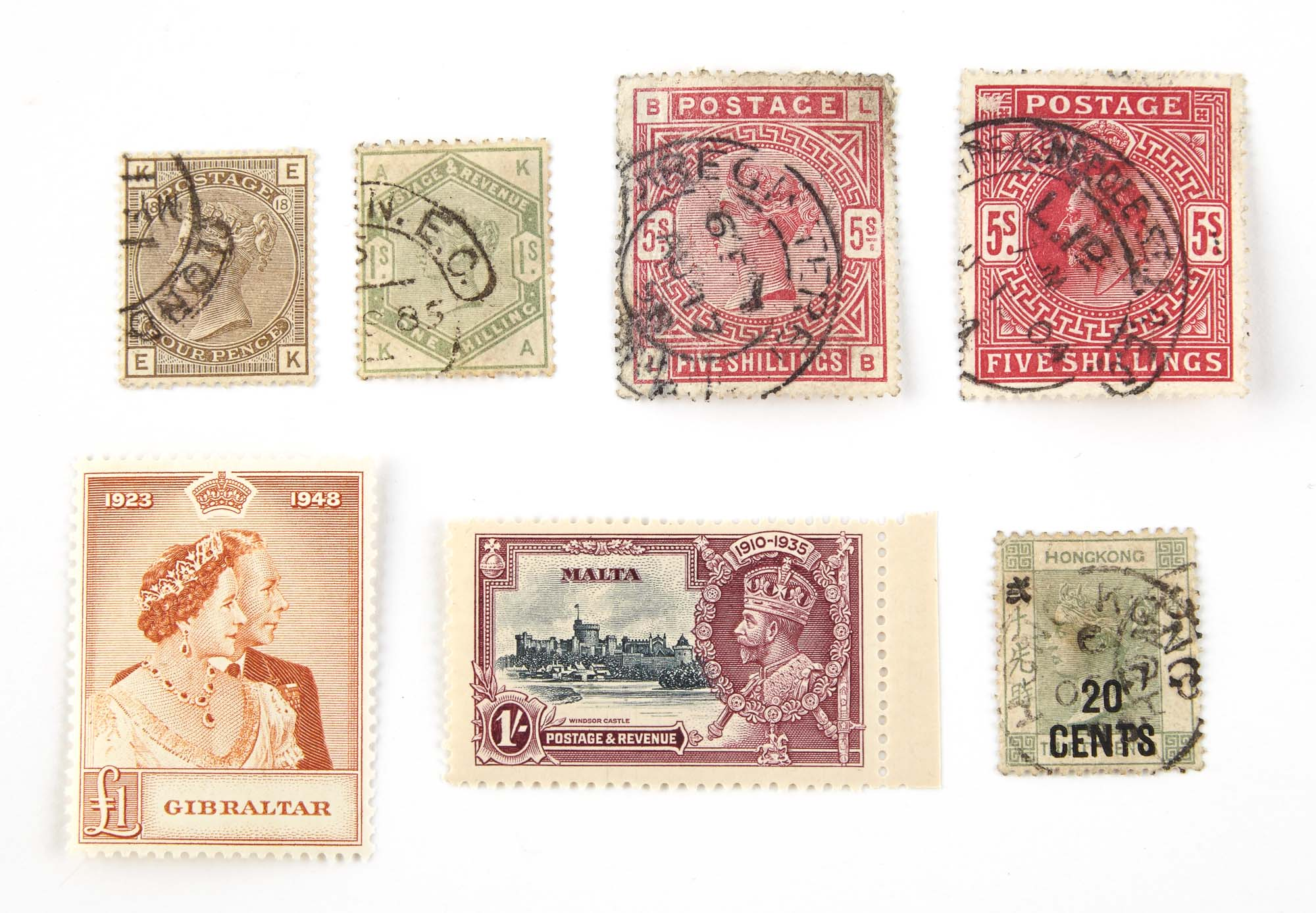 Lot image - British Commonwealth Postage Stamp Collection