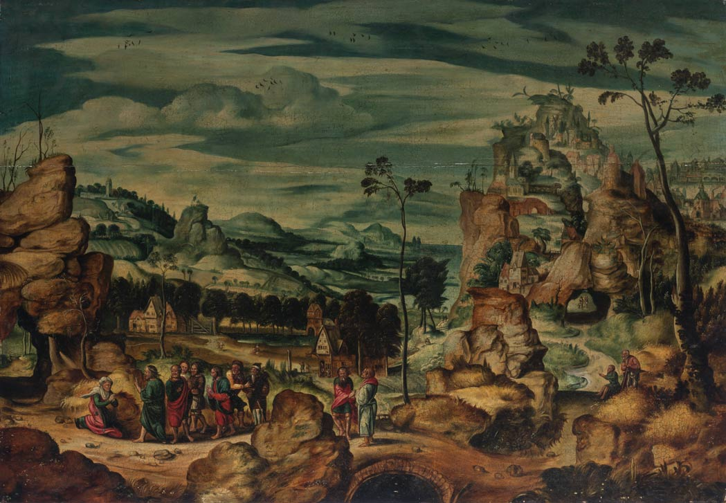 Lot image - 16th Century Flemish Manner