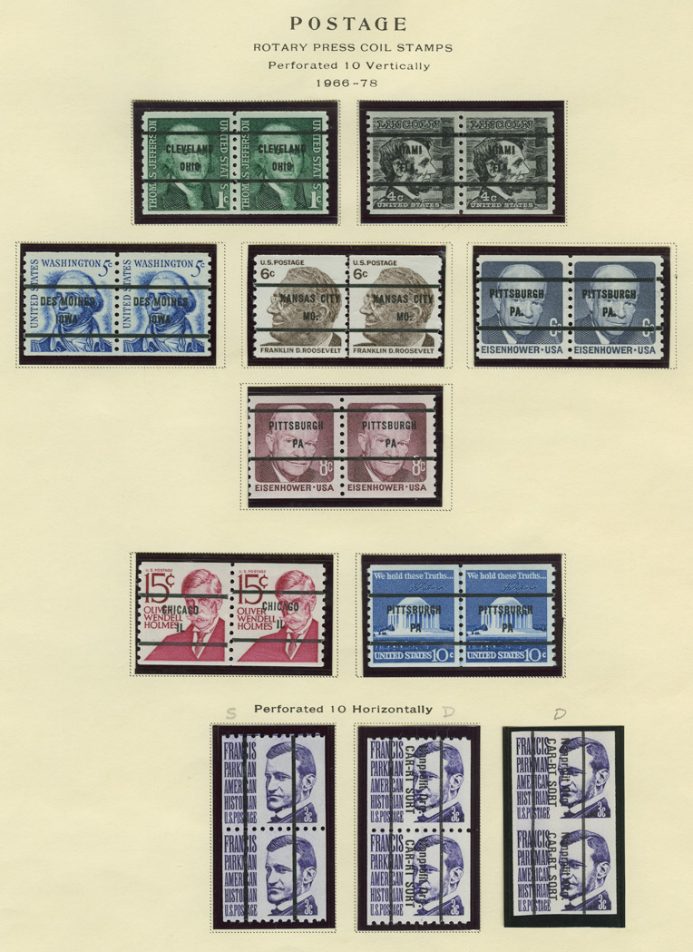 Lot image - United States Definitive Series 1965 to 1988