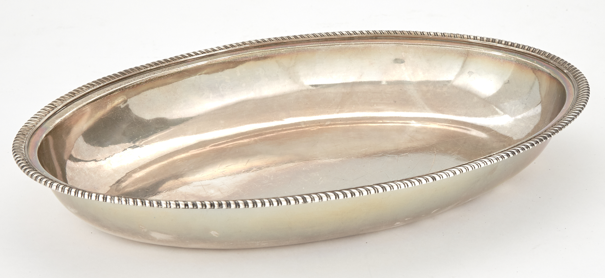 Lot image - George III Sterling Silver Open Vegetable Dish