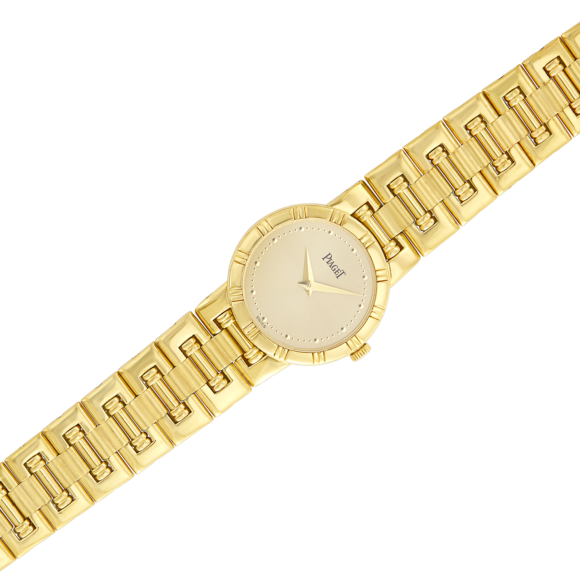 Lot image - Gold Dancer Wristwatch, Piaget