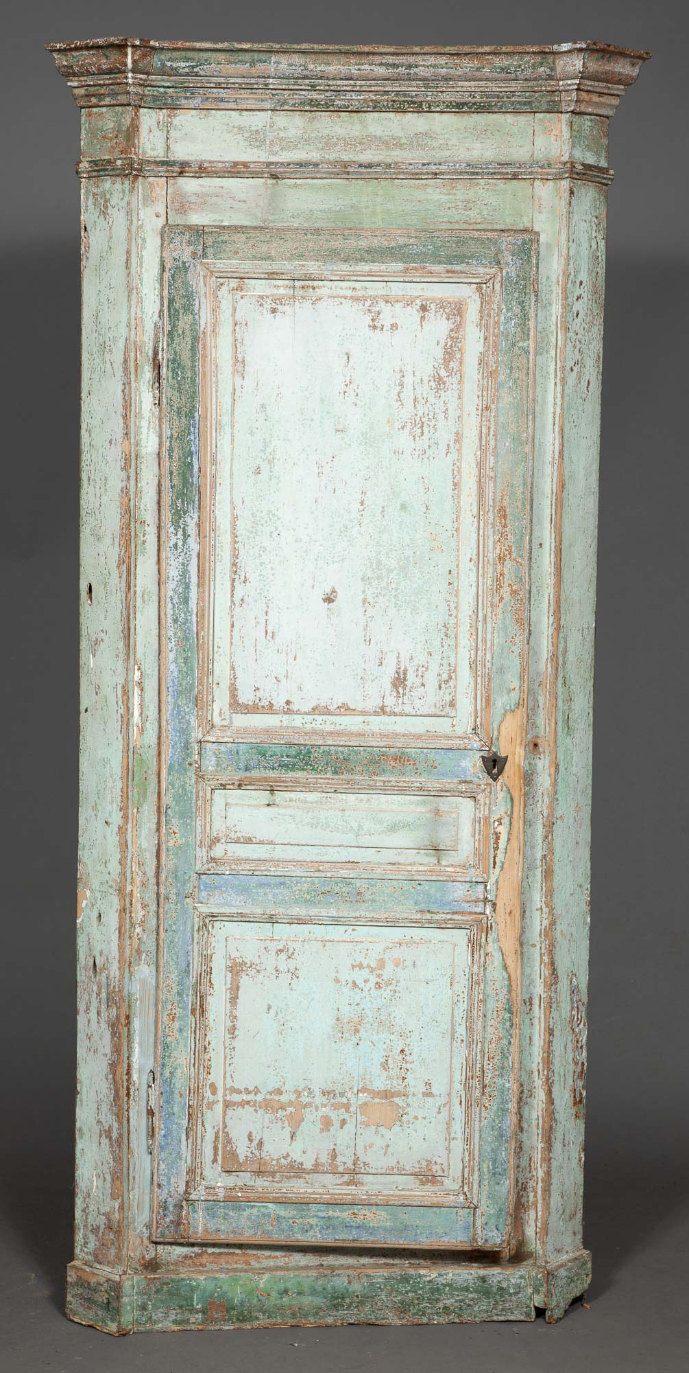 Lot image - Continental Neoclassical Painted Cabinet