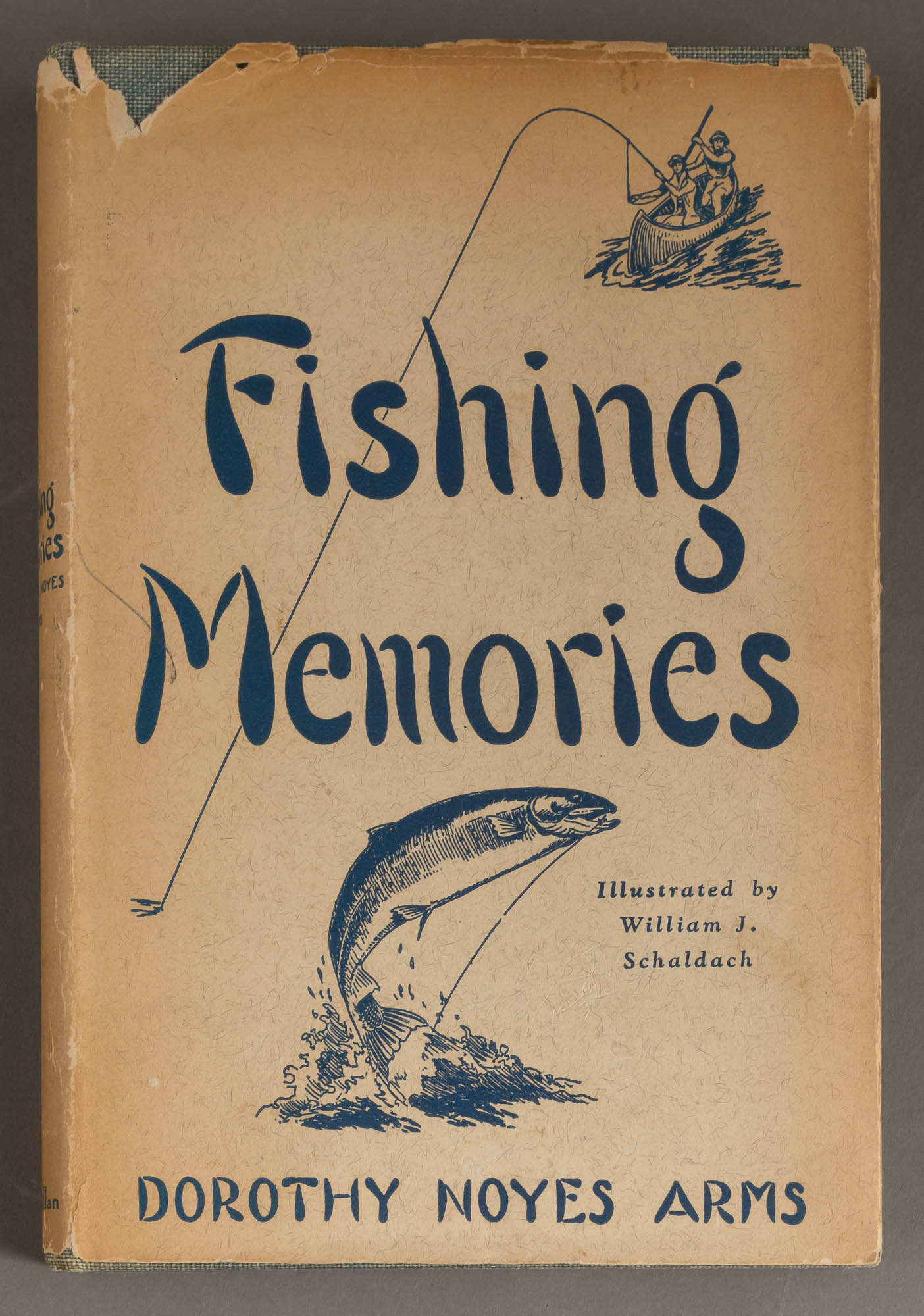 Lot image - ARMS, DOROTHY NOYES  Fishing Memories.
