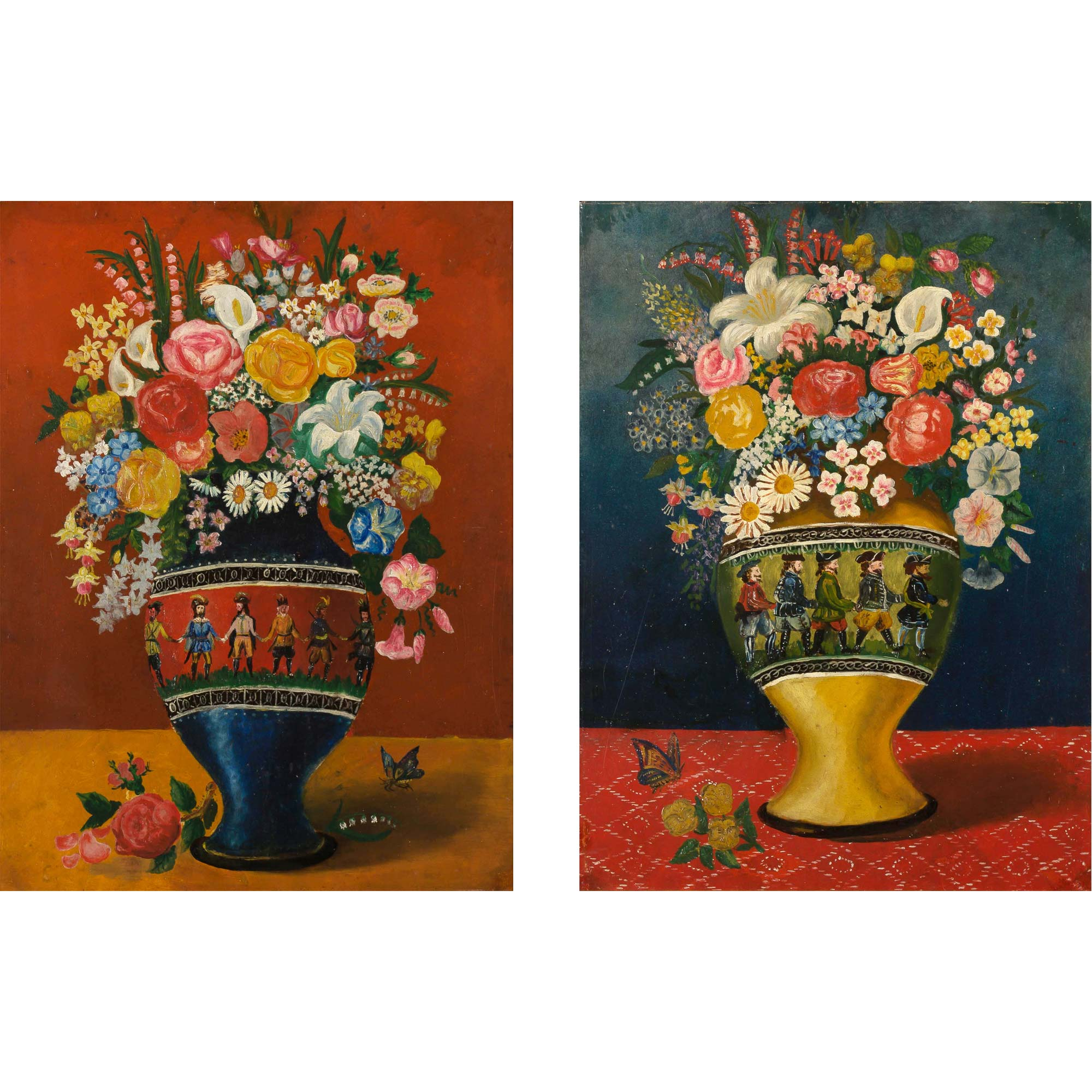 Lot image - Floral Still Life