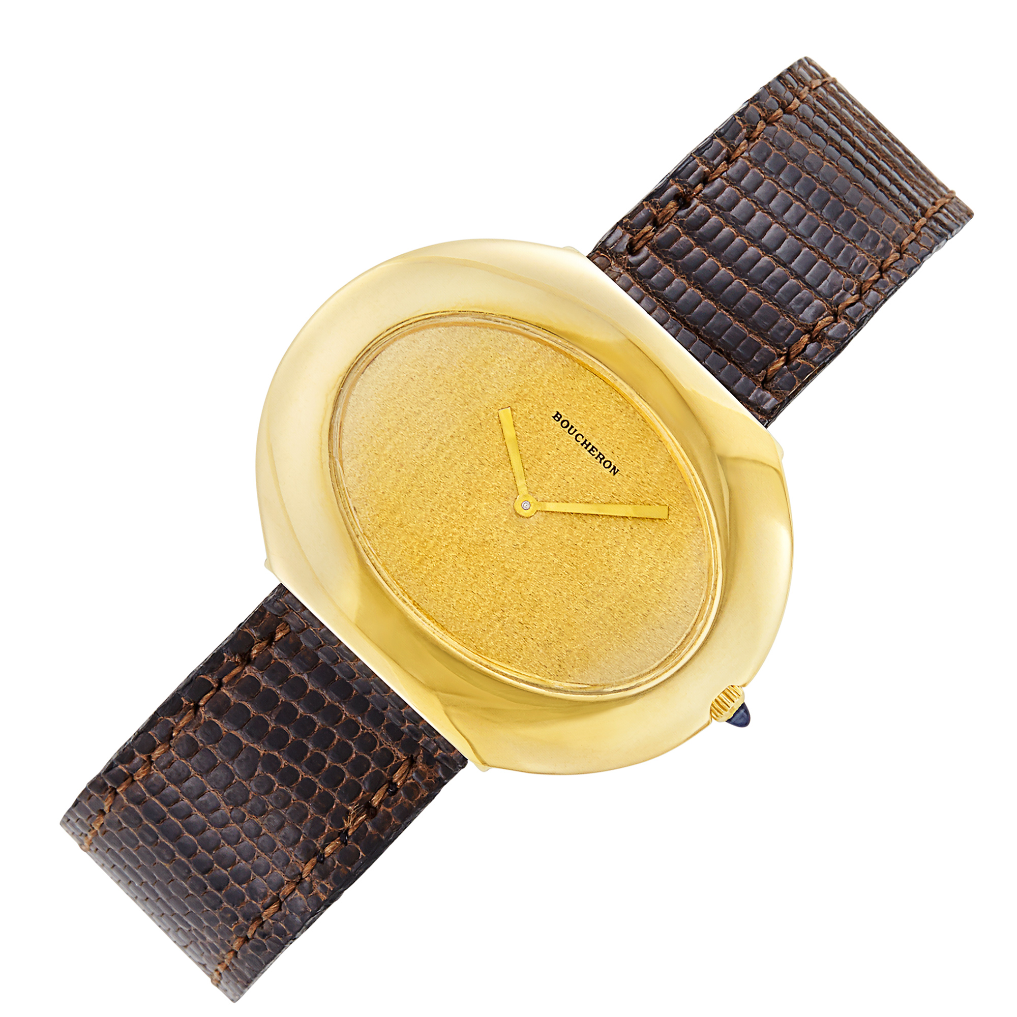 Lot image - Gold Wristwatch, Boucheron, Paris
