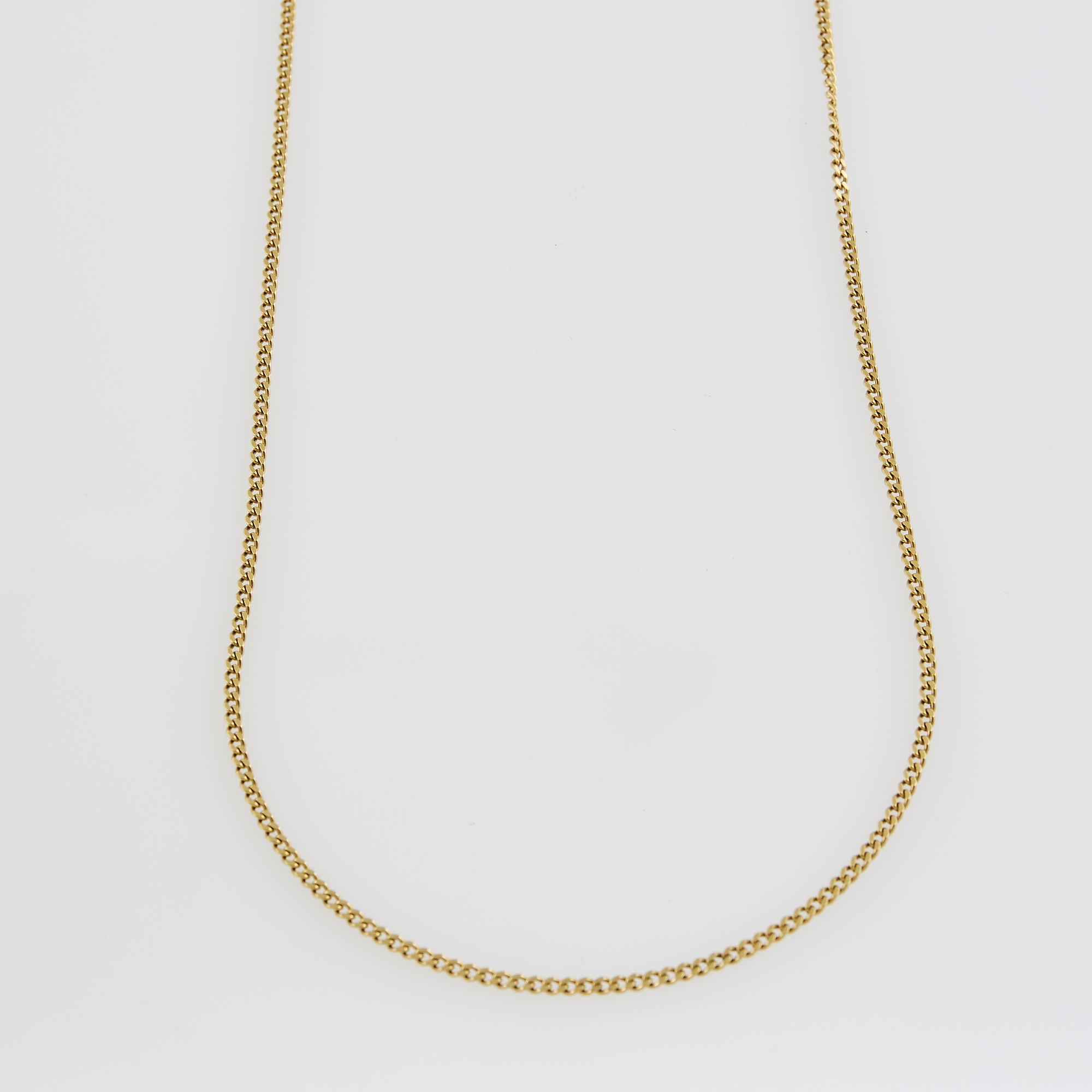 Lot image - Gold Neck Chain, 18K 6 dwt.
