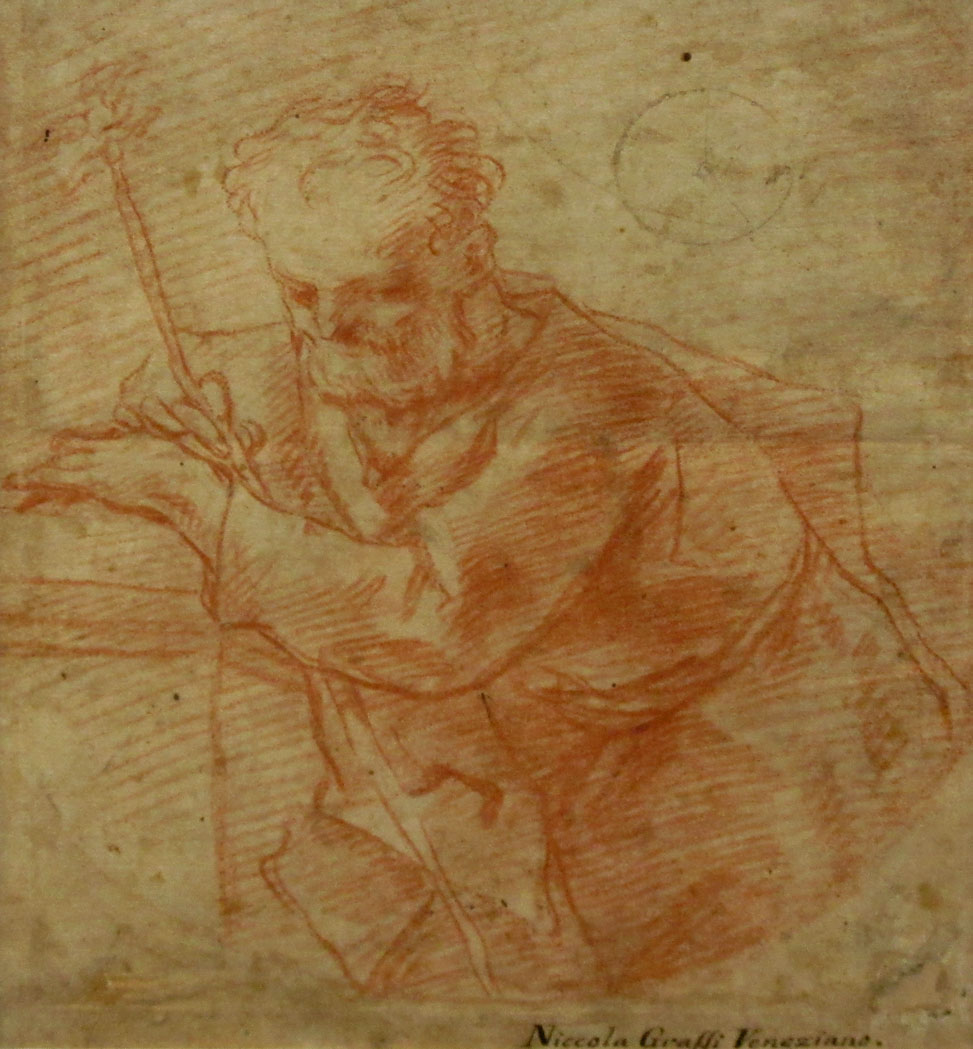 Lot image - St. Joseph with the Flowering Staff