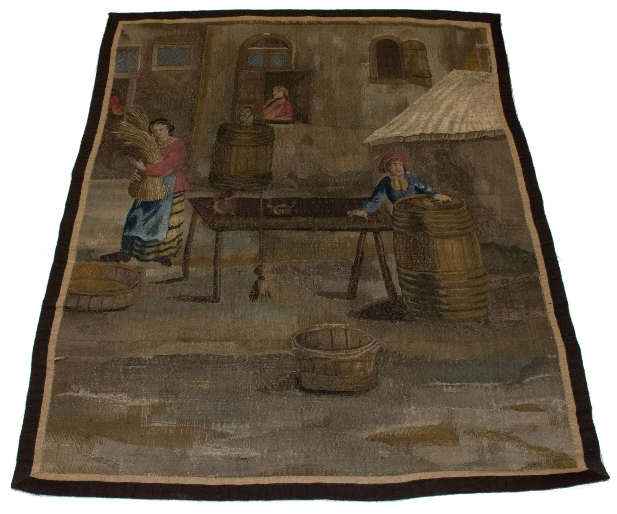 Lot image - Flemish Tapestry Panel