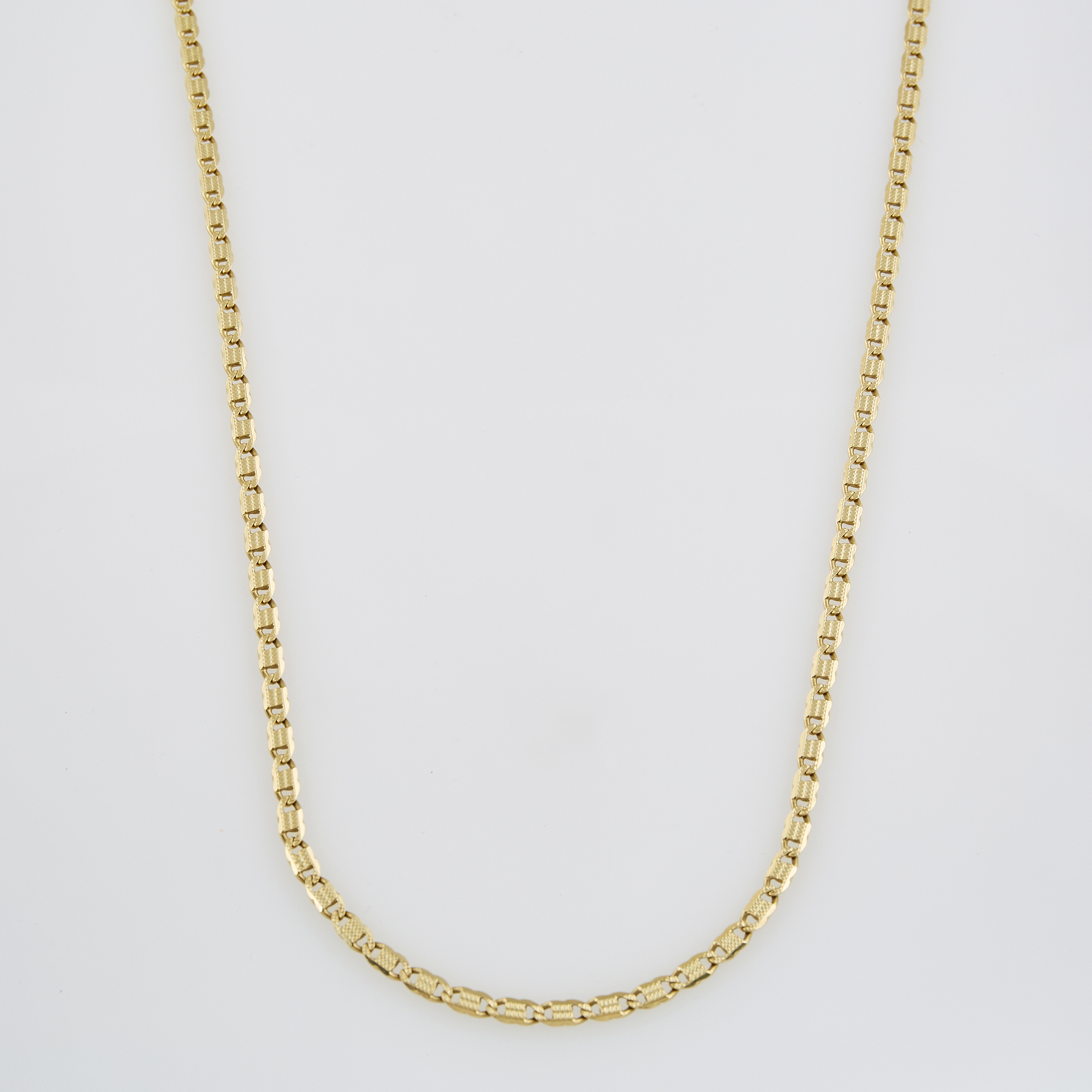 Lot image - Gold Neck Chain, 14K 21 dwt.