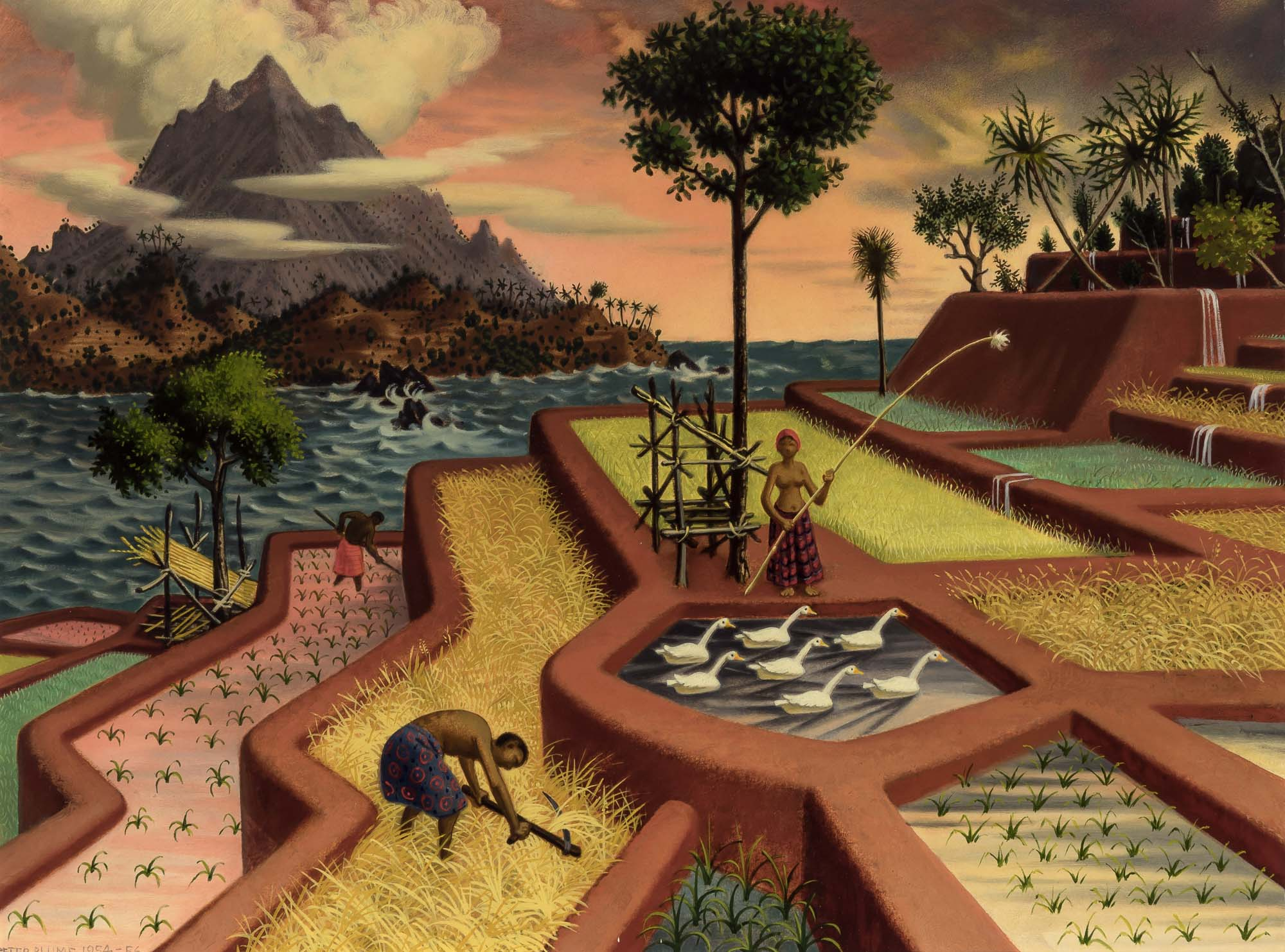 Lot image - Peter Blume