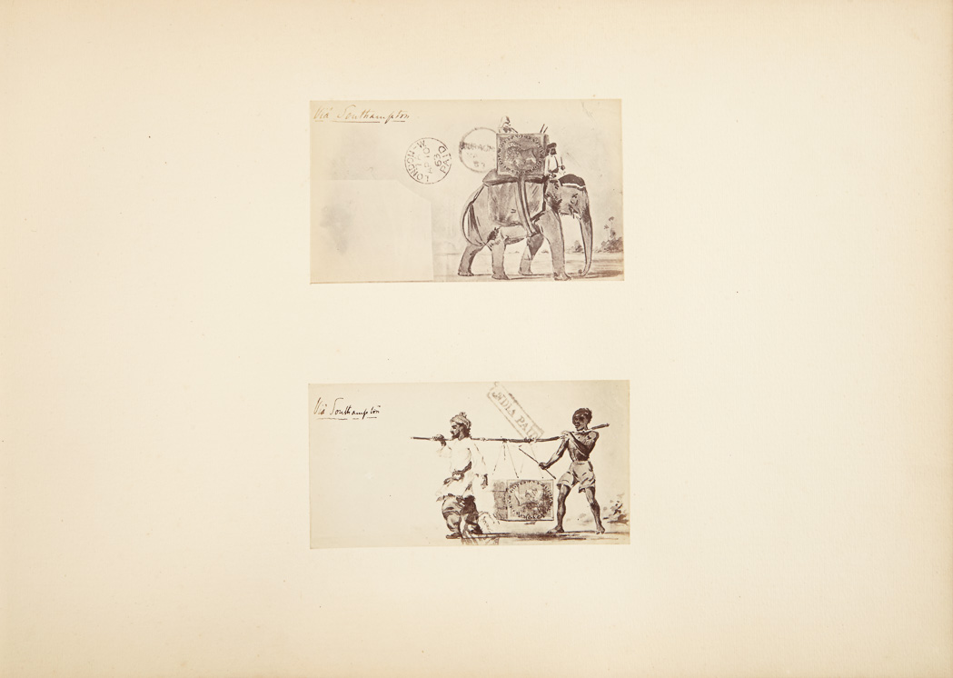 Lot image - BROWN, HORACE COWLEY  [Sketches by Captain Horace Brown of the Royal (Bombay) Artillery].