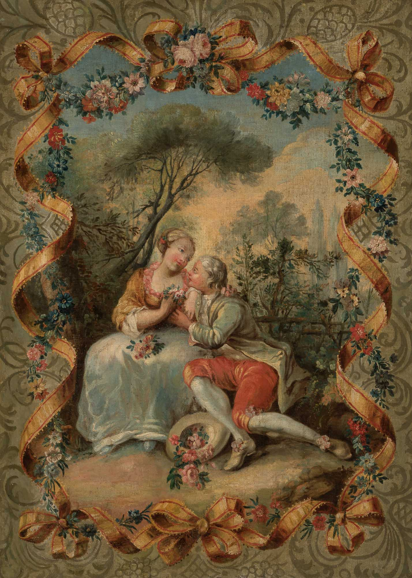 Lot image - Manner of Francois Boucher