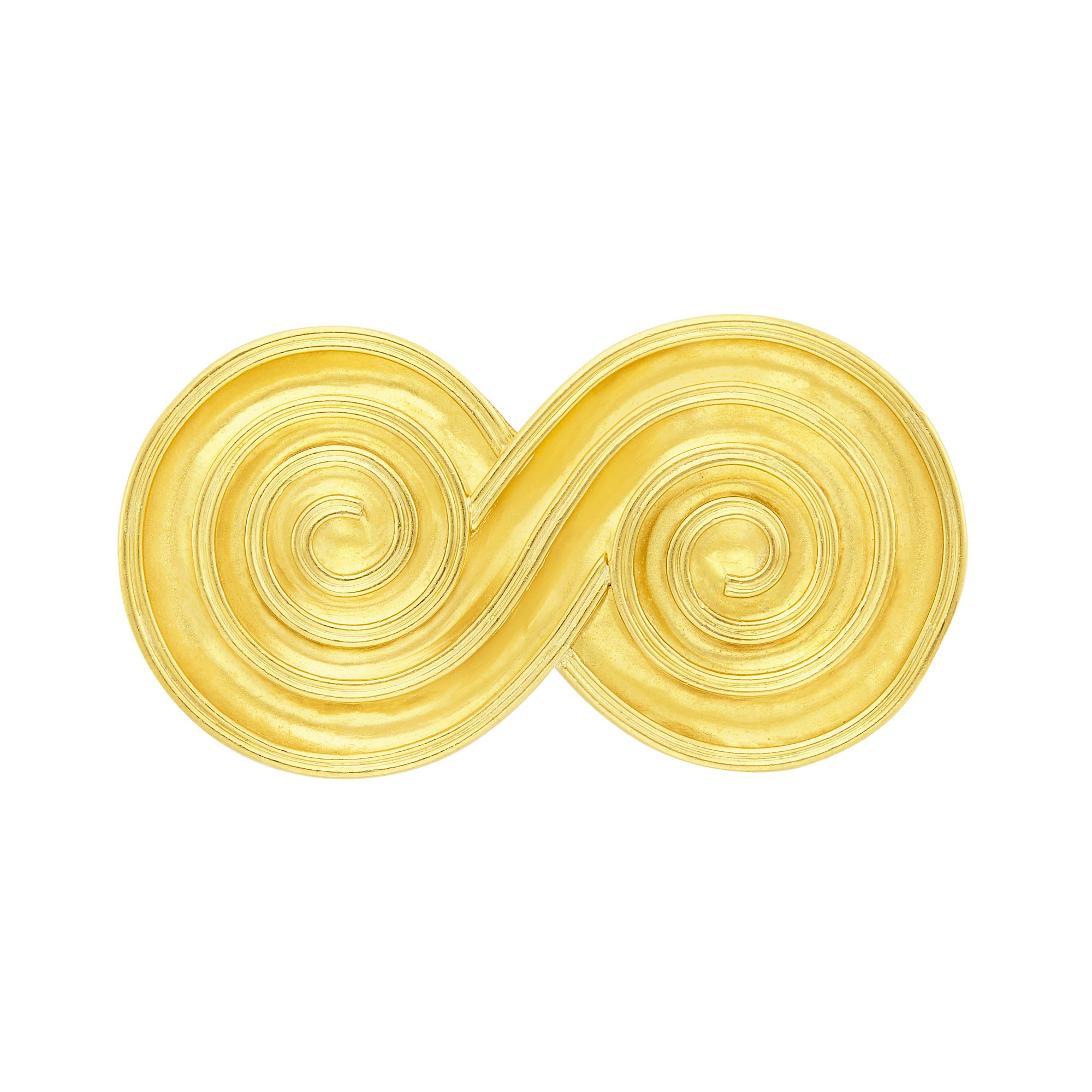 Lot image - Gold Spiral Brooch, Ilias Lalaounis