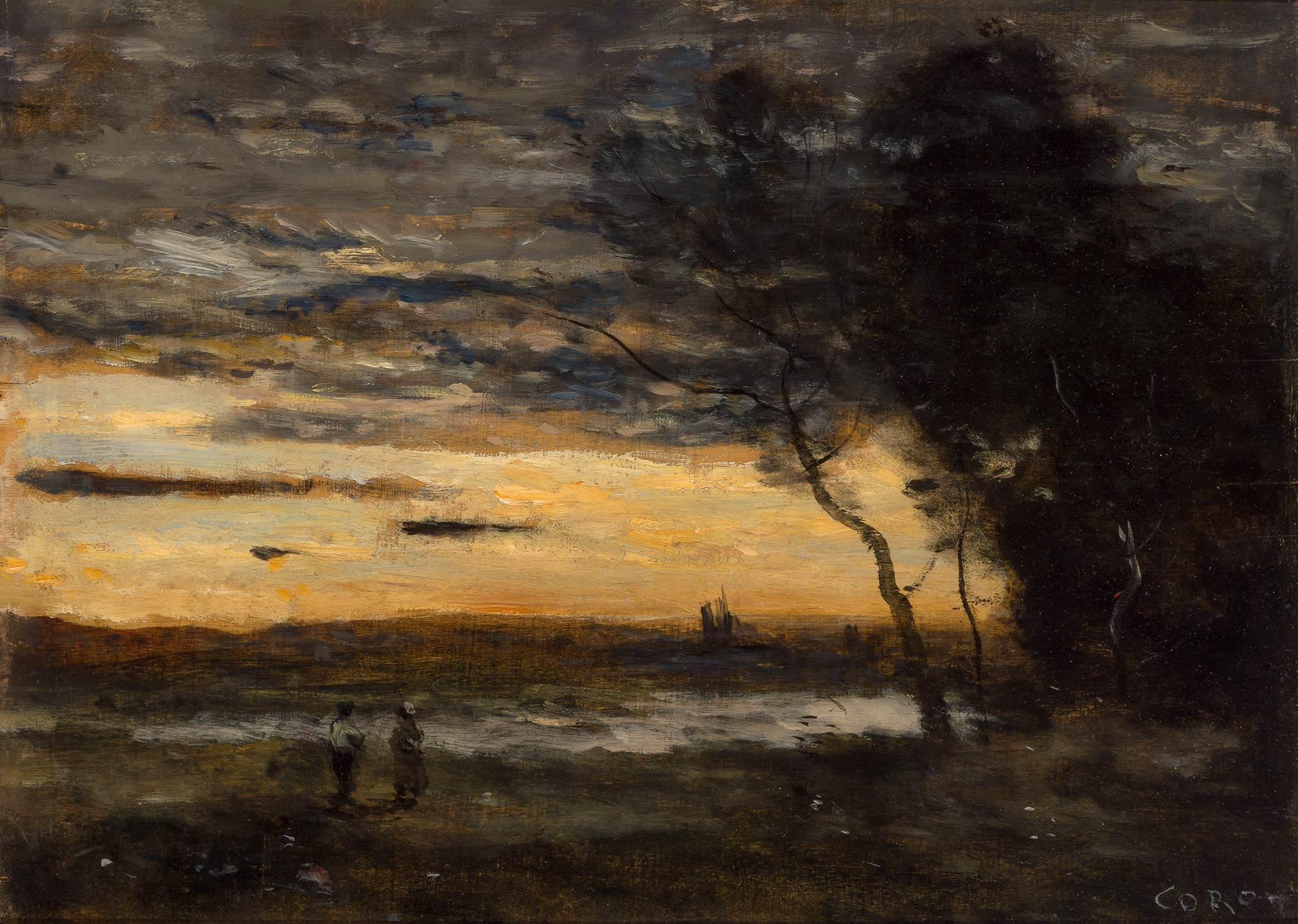 Lot image - Jean-Baptiste-Camille Corot