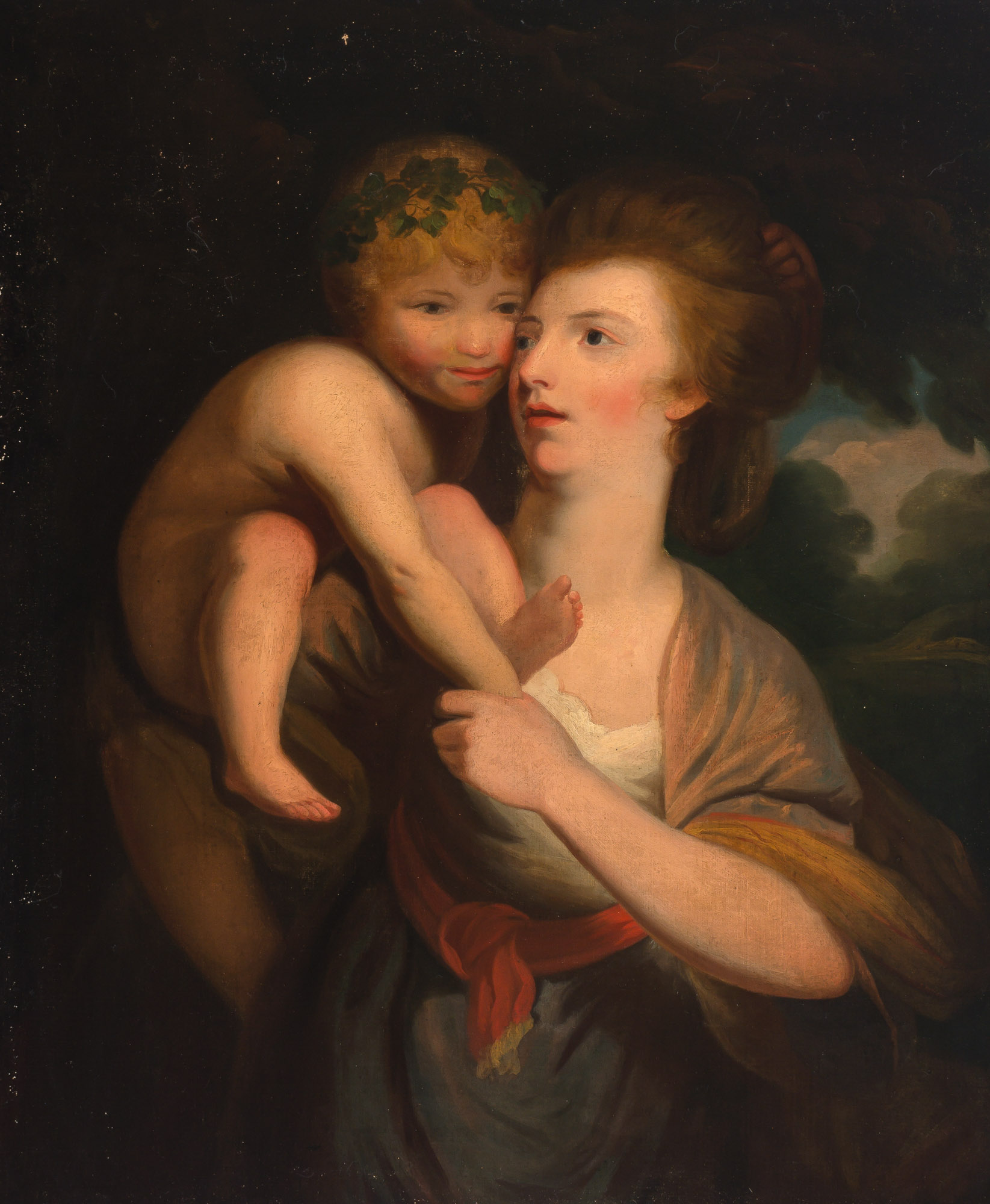 Lot image - Manner of Sir Joshua Reynolds
