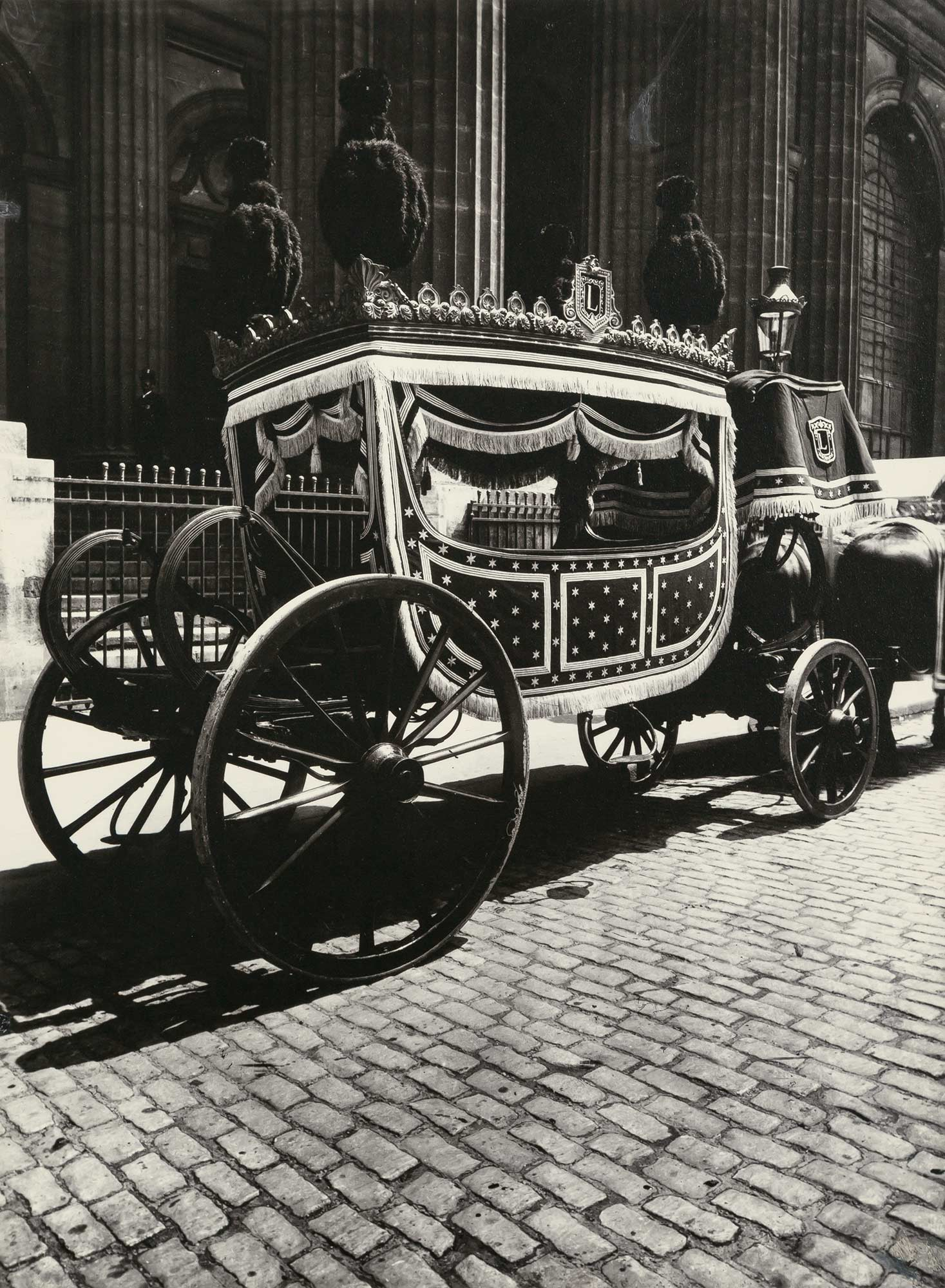 Lot image - ATGET, EUGENE and ABBOTT, BERENICE  Pompe Funebre, Paris