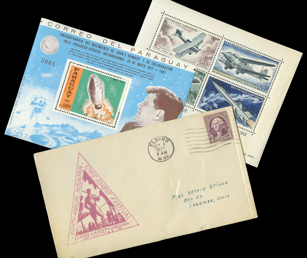 Lot image - Miscellanous Group of World Wide Stamps