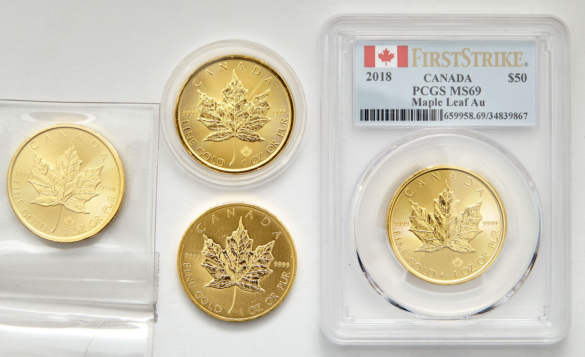 Lot image - Canada $50 Maple