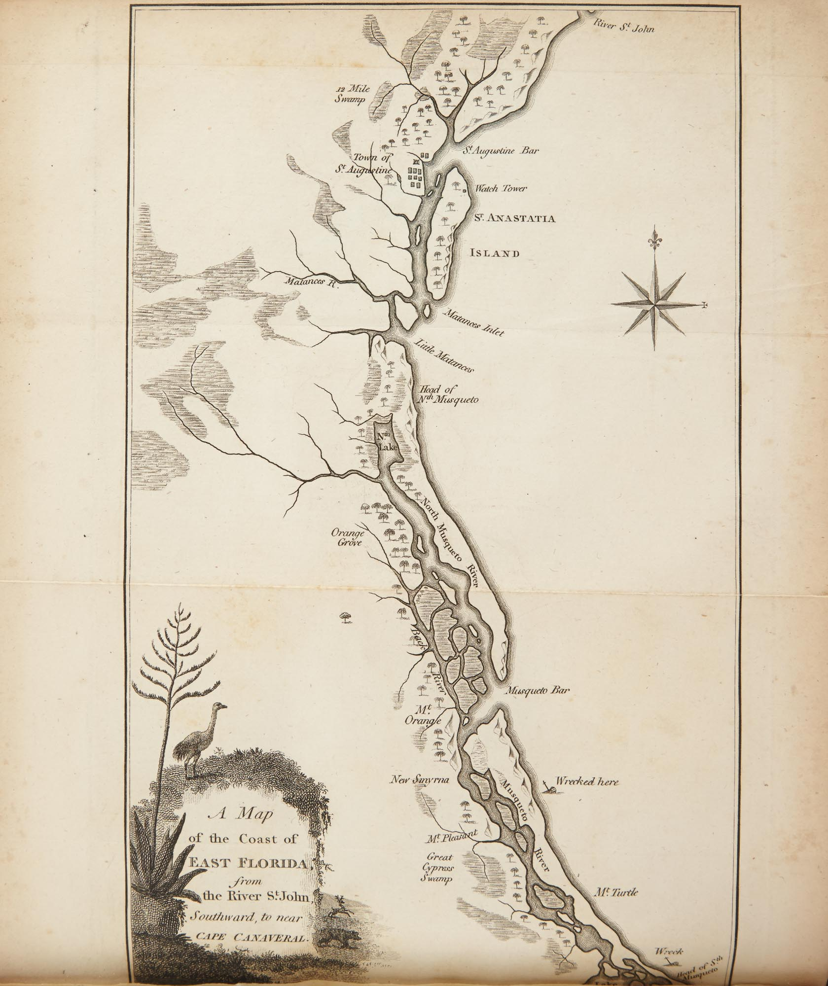 Lot image - BARTRAM, WILLIAM  Travels through North and South Carolina, Georgia, East and West Florida, The Cherokee Country, the Extensive Territories of the Muscogulges or Creek Confederacy, and Country of the Chactaws.