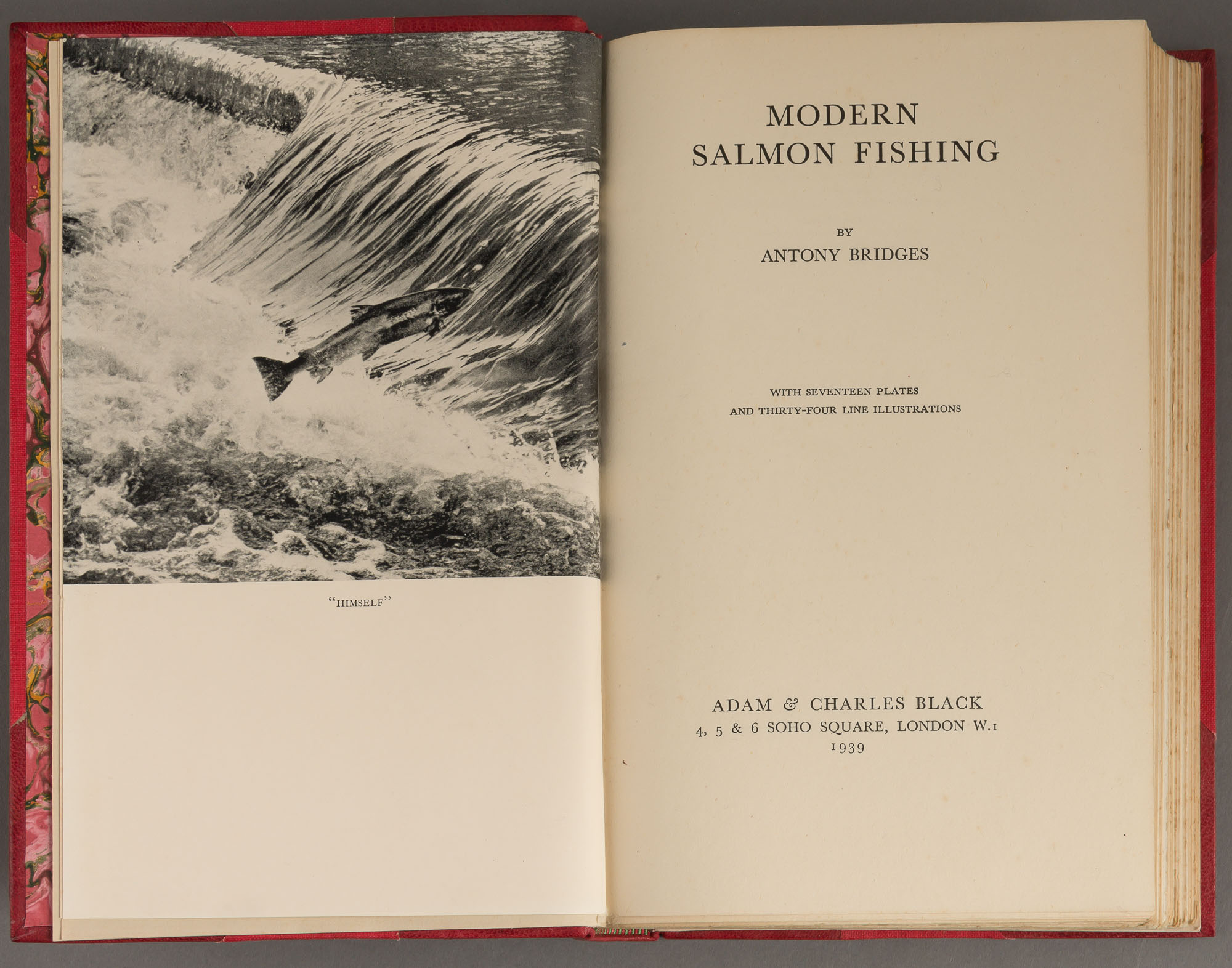 Lot image - BRIDGES, ANTHONY  Modern Salmon Fishing.