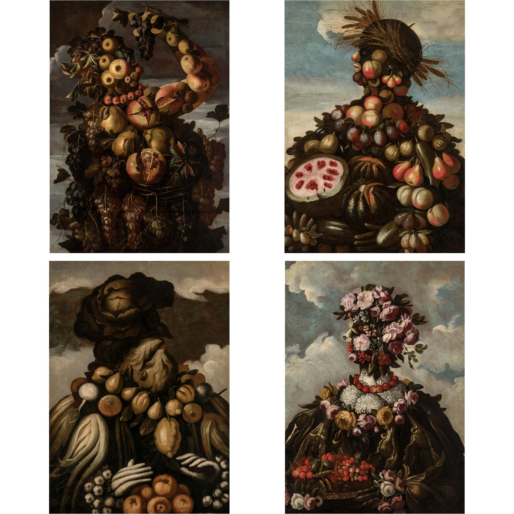 Lot image - School of Giuseppe Arcimboldo