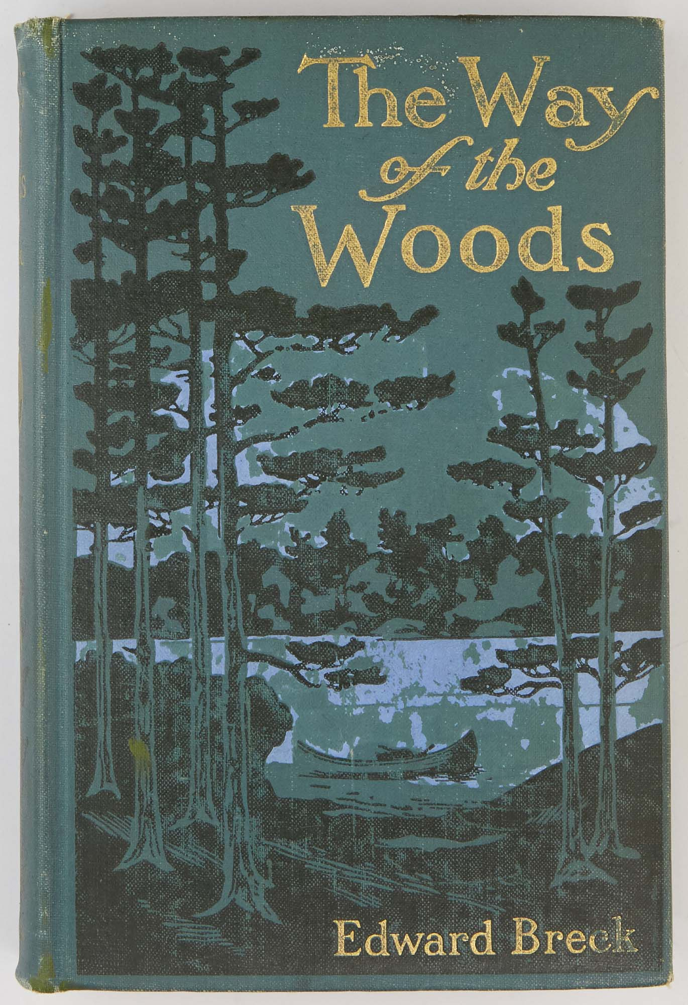 Lot image - BRECK, EDWARD  The Way of the Woods. A Manual for Sportsmen in Northeastern United States and Canada.