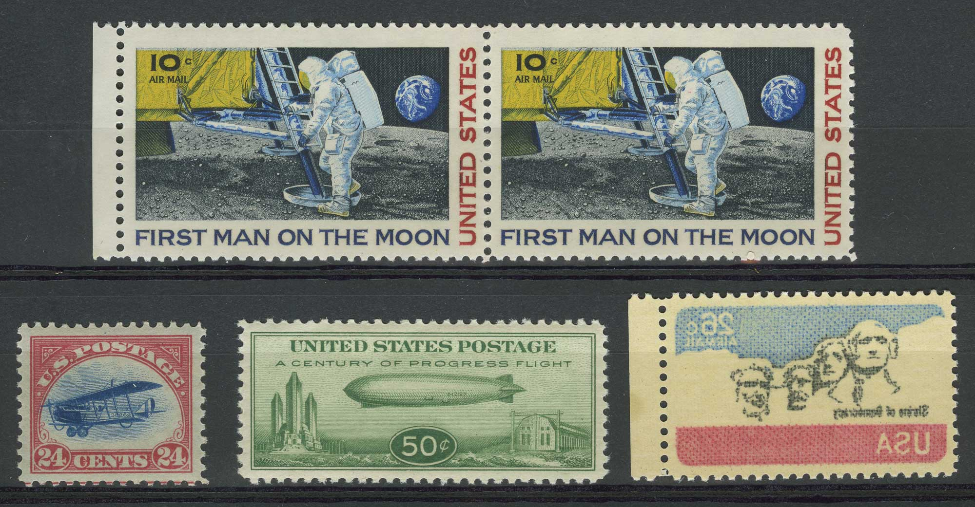 Lot image - United State Air Post Issues