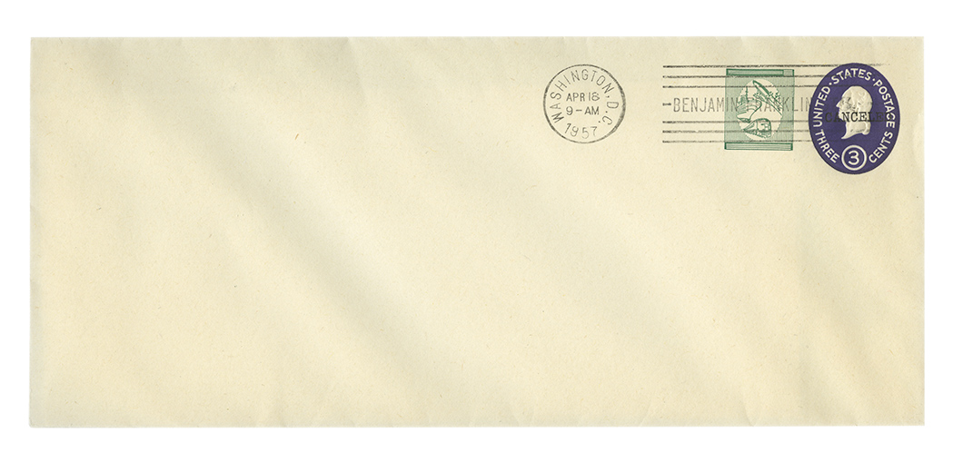 Lot image - United States International Envelope Co. Essay US E168Db