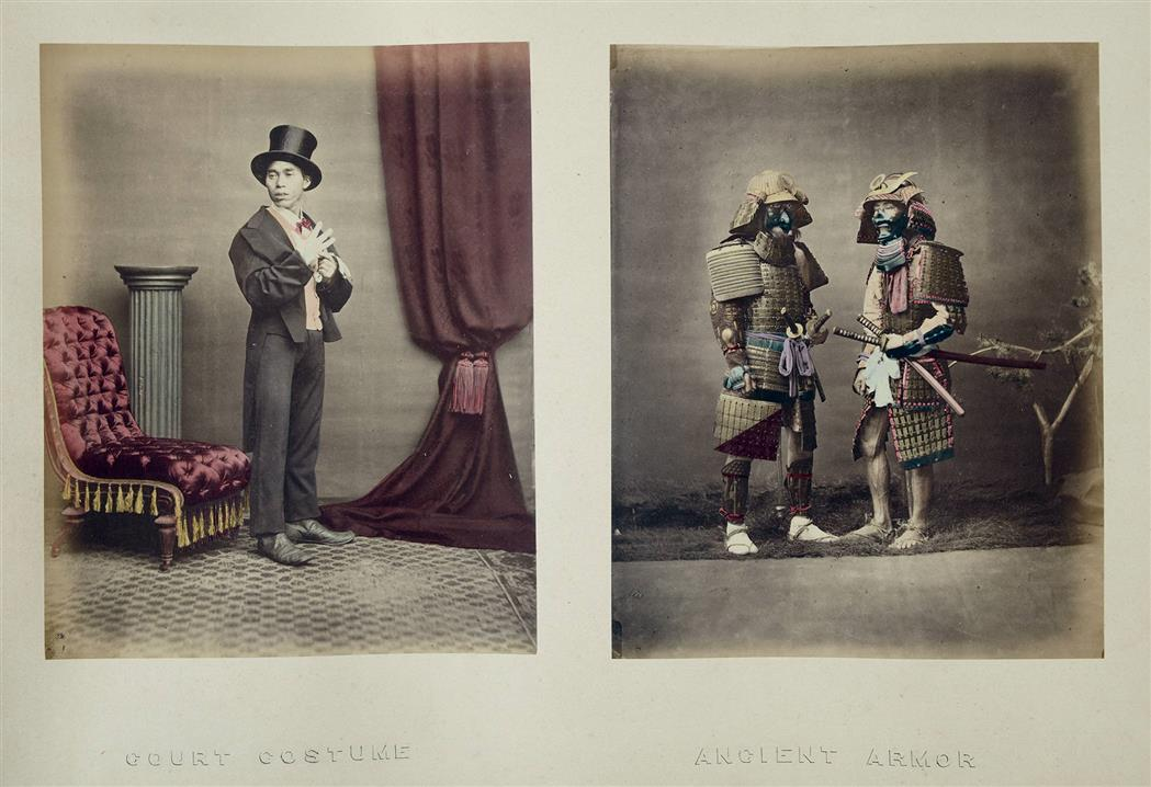 Lot image - [JAPAN AND CHINA]  BEATO, FELICE (1832-1909), and others.