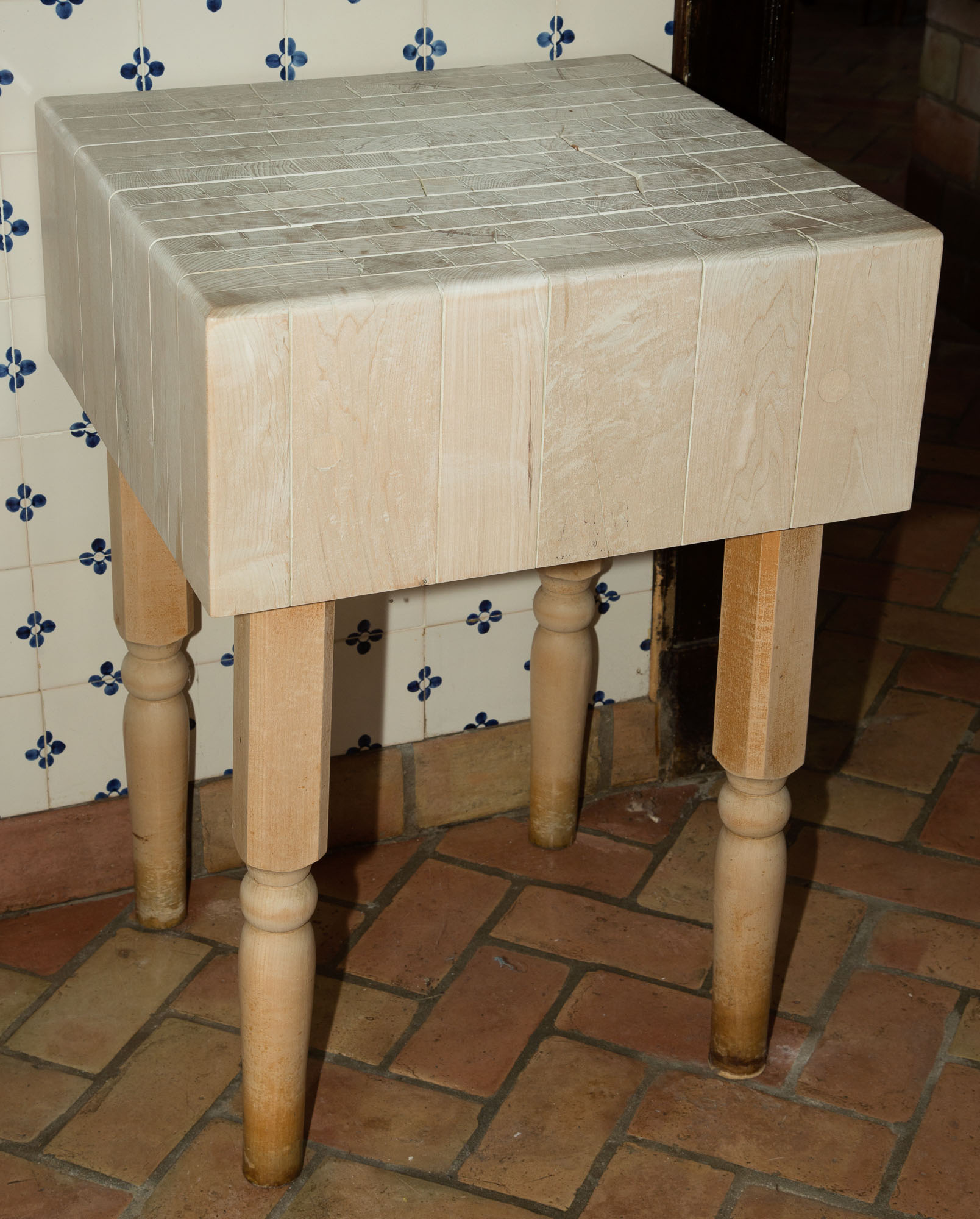 Lot image - Butchers Block Table